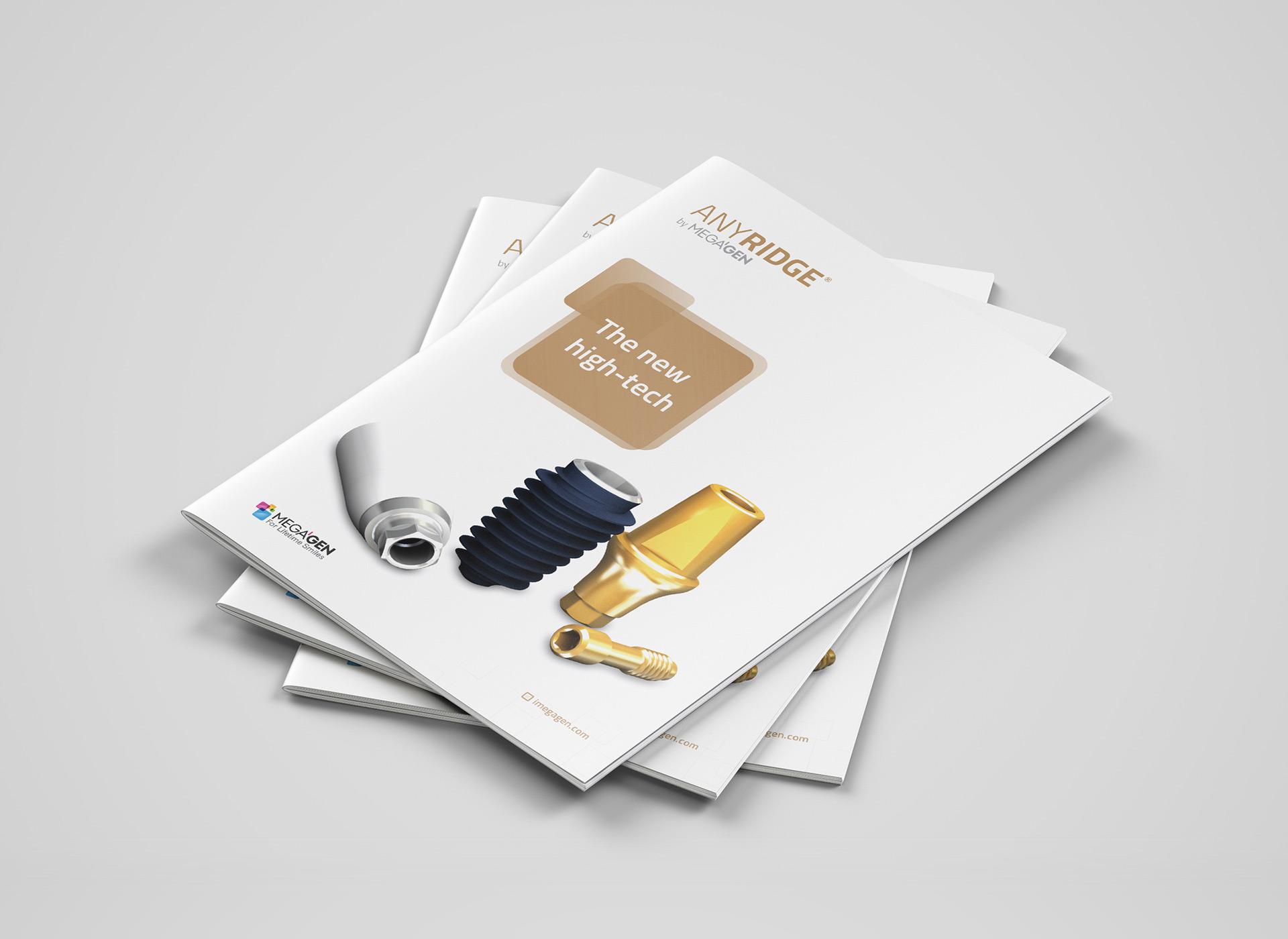 Megagen Koreea anyridge brochure portfolio inoveo