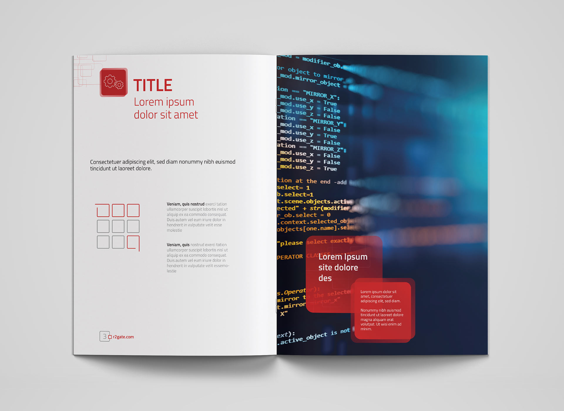Megagen Koreea r2gate brochure portfolio inoveo