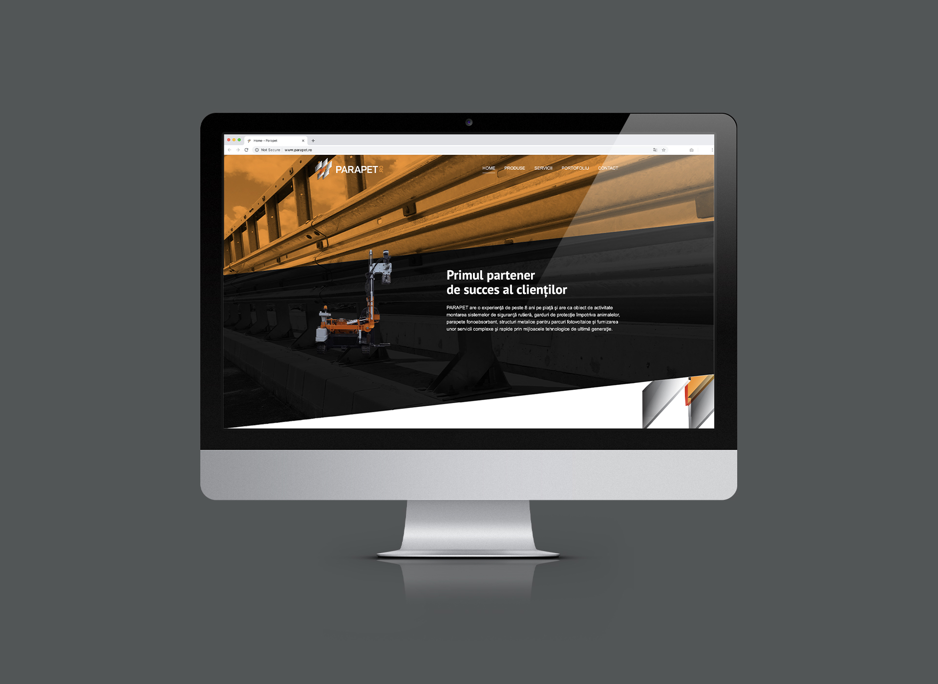 parapet portfolio inoveo website