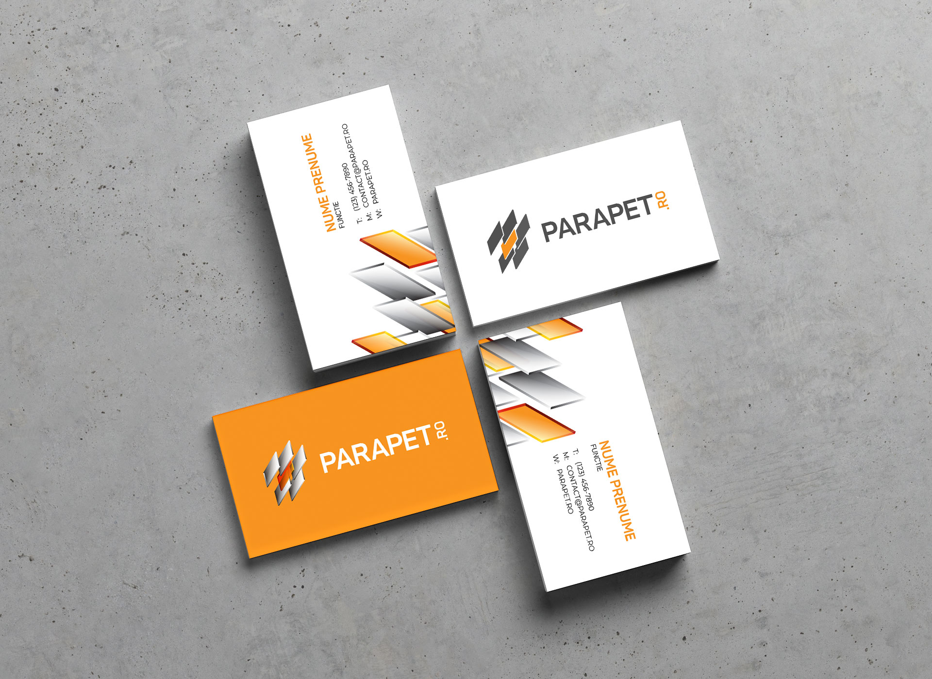parapet portfolio inoveo business card
