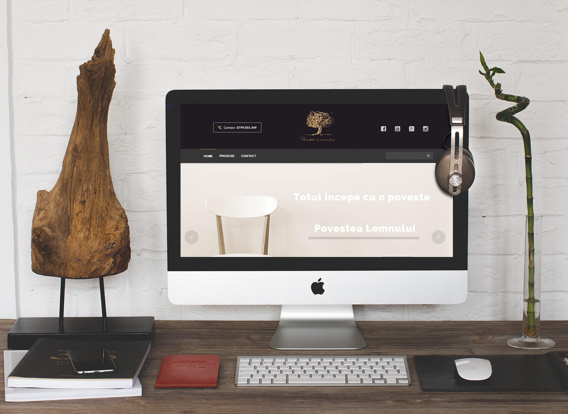 Povestea Lemnului Portfolio Inoveo website