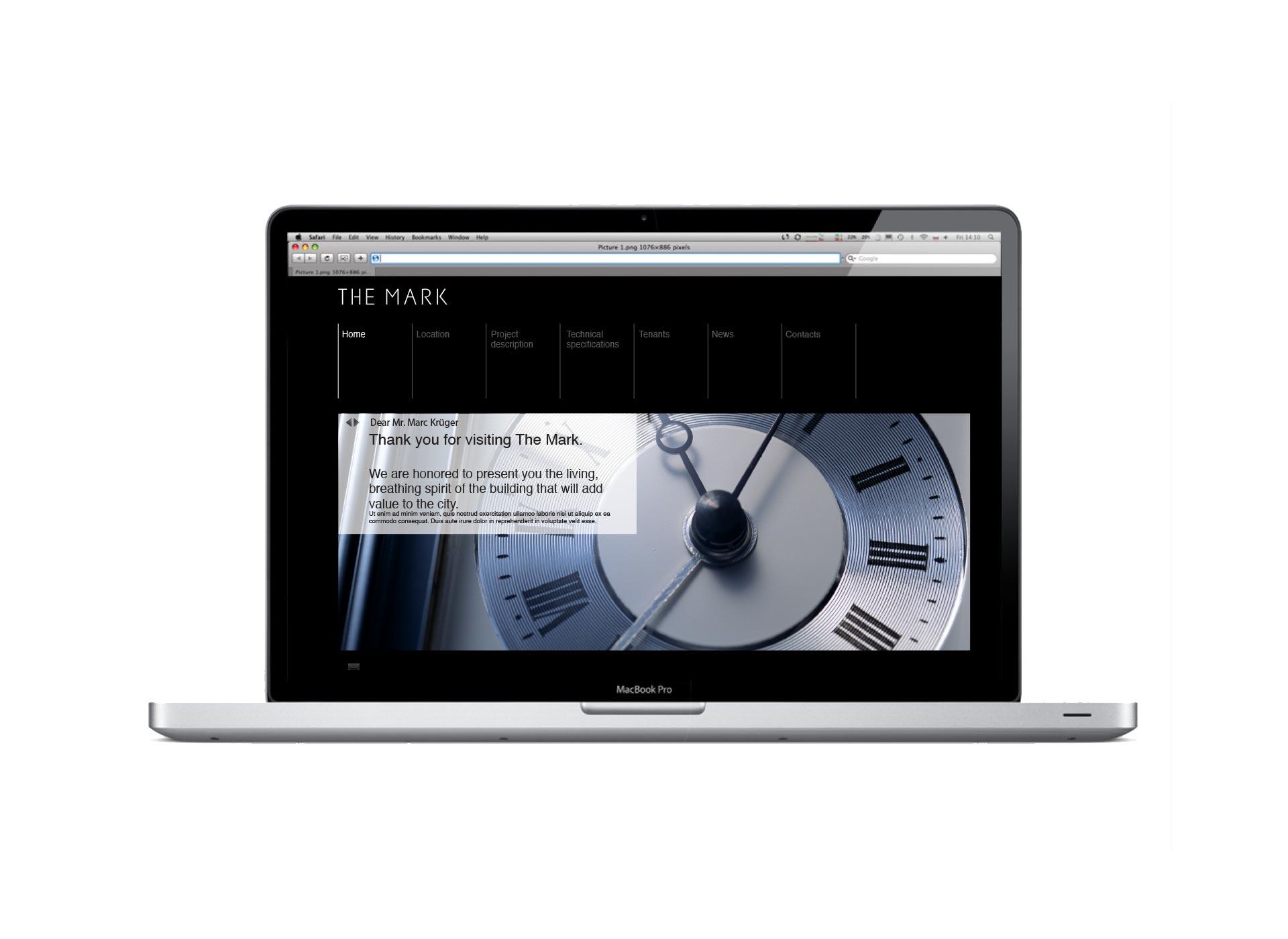 the mark portfolio inoveo website