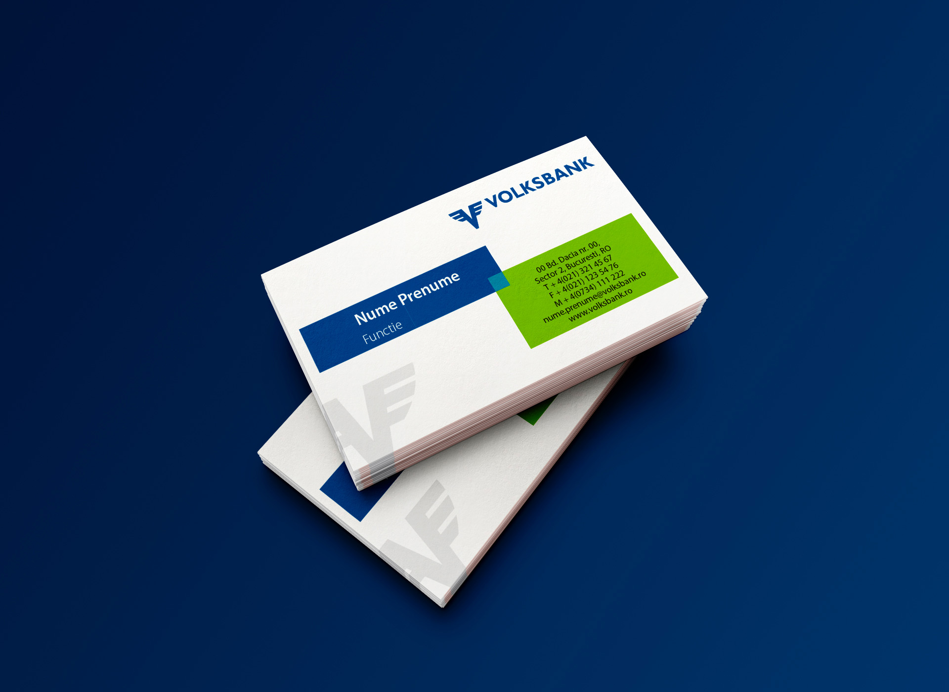 volksbank business card portofoliu inoveo