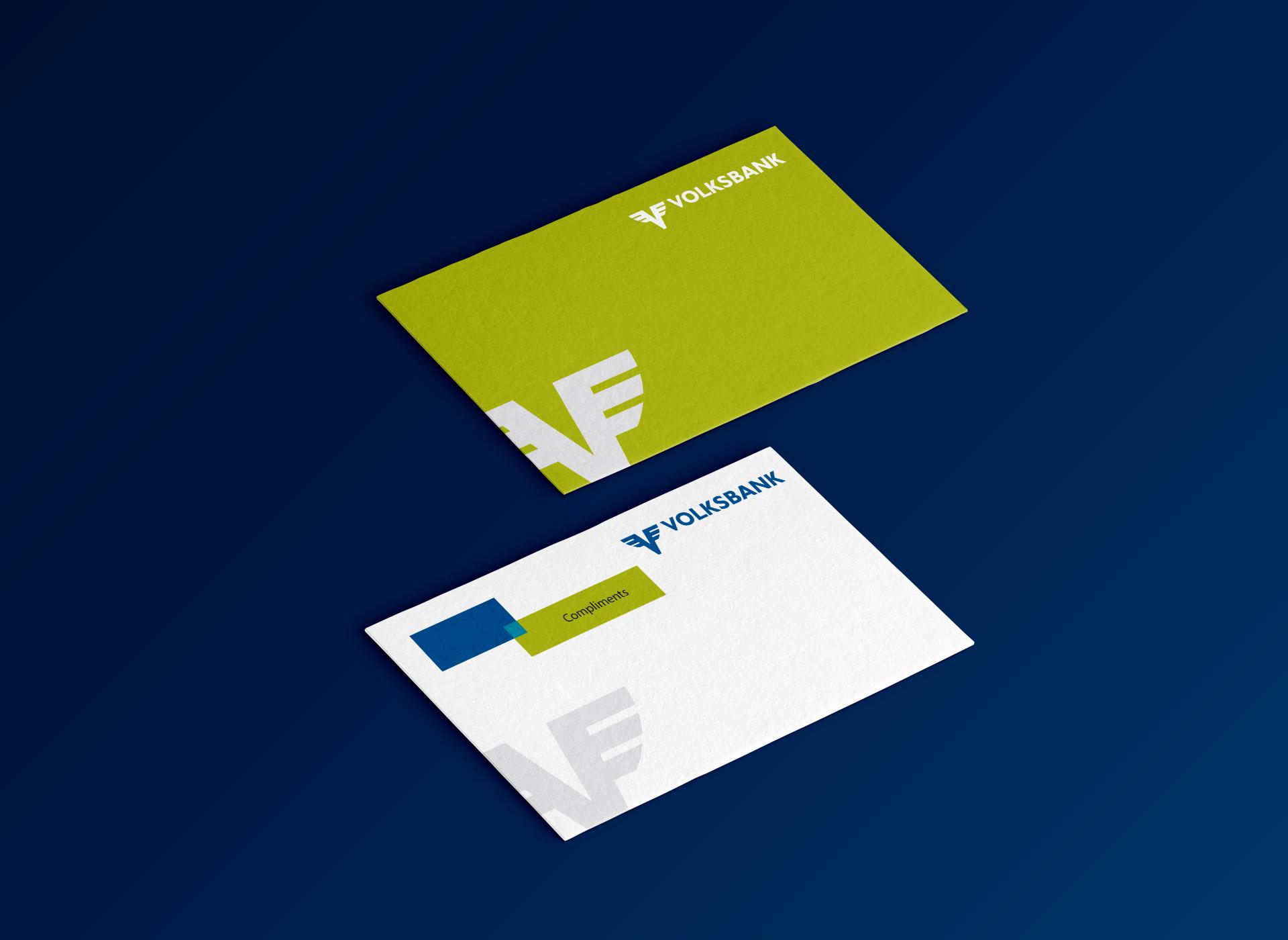 volksbank greeting card portofoliu inoveo