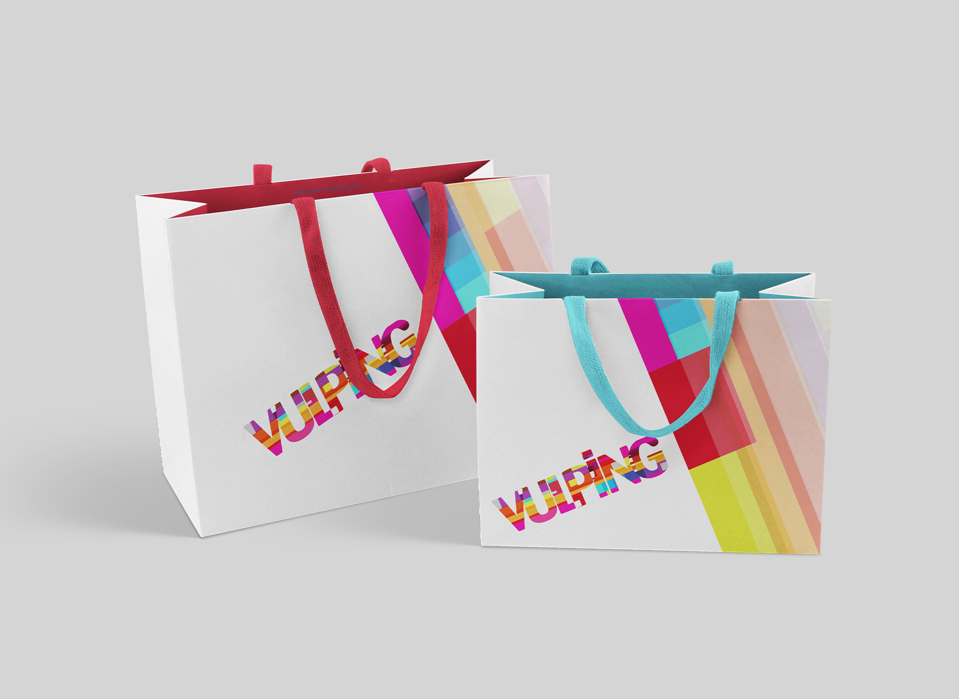 vulping branding by inoveo bag
