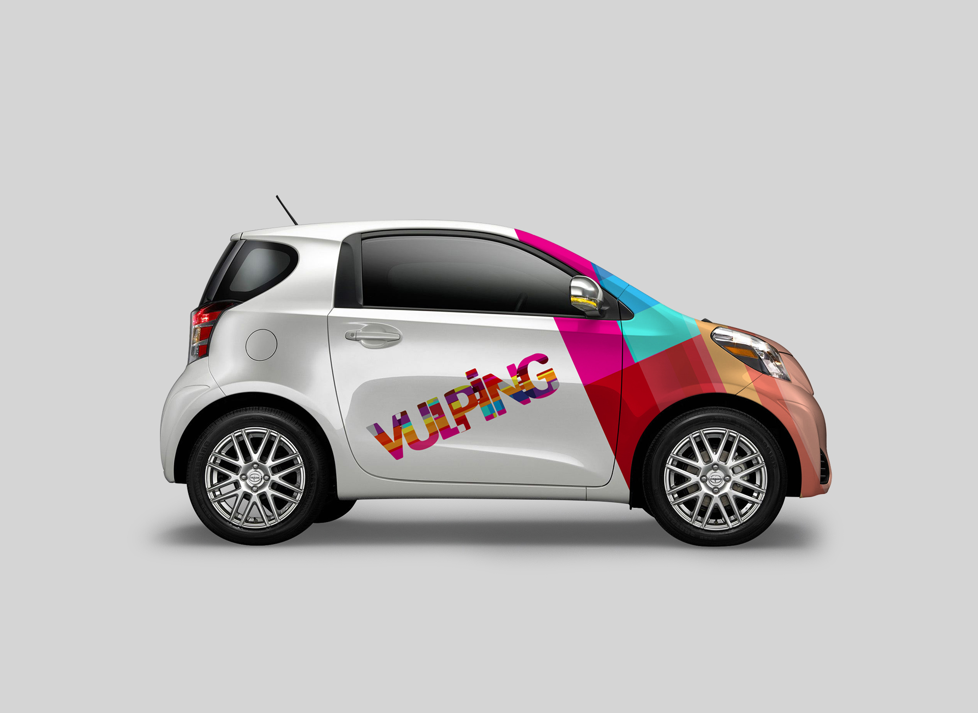 vulping branding by inoveo car