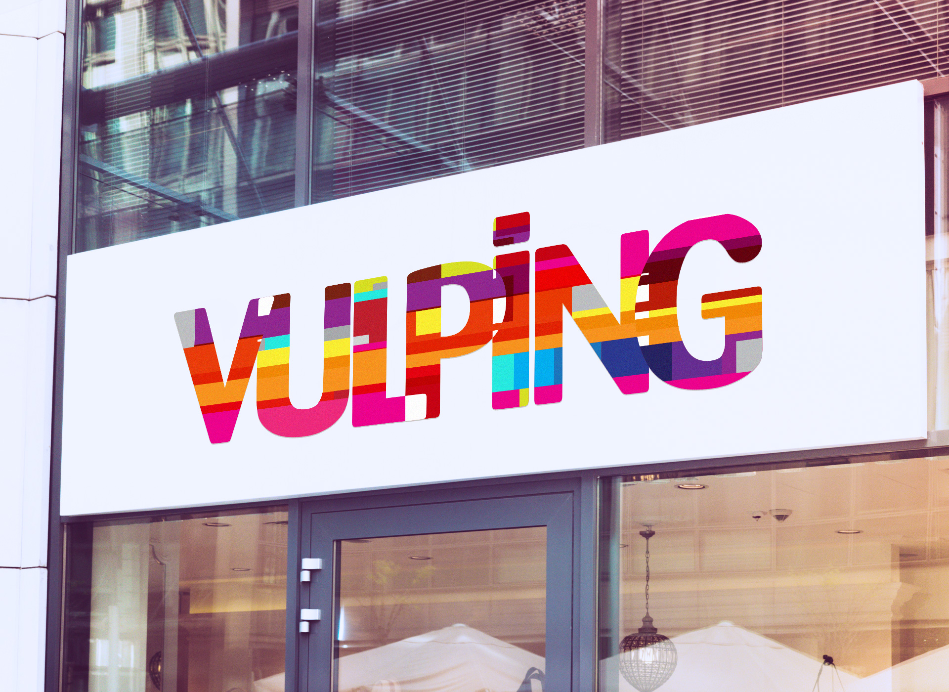 vulping branding by inoveo signage