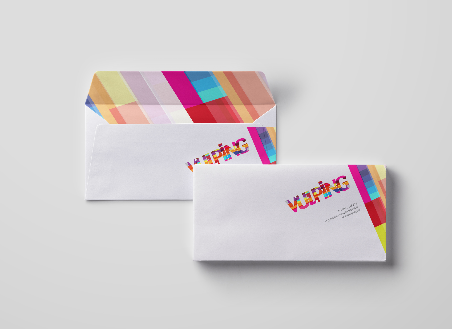 vulping branding by inoveo stationery