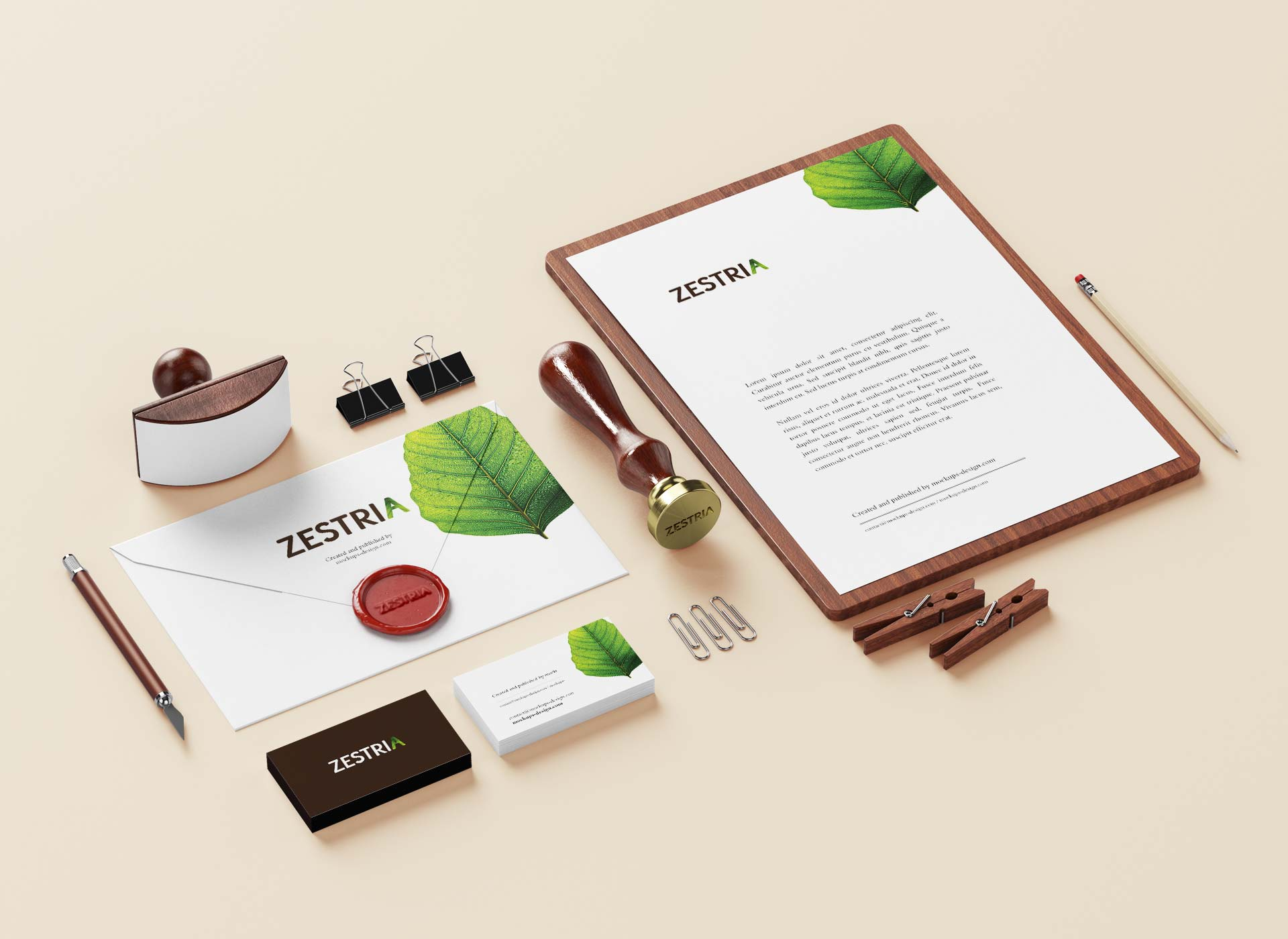 zestria portfolio inoveo stationery