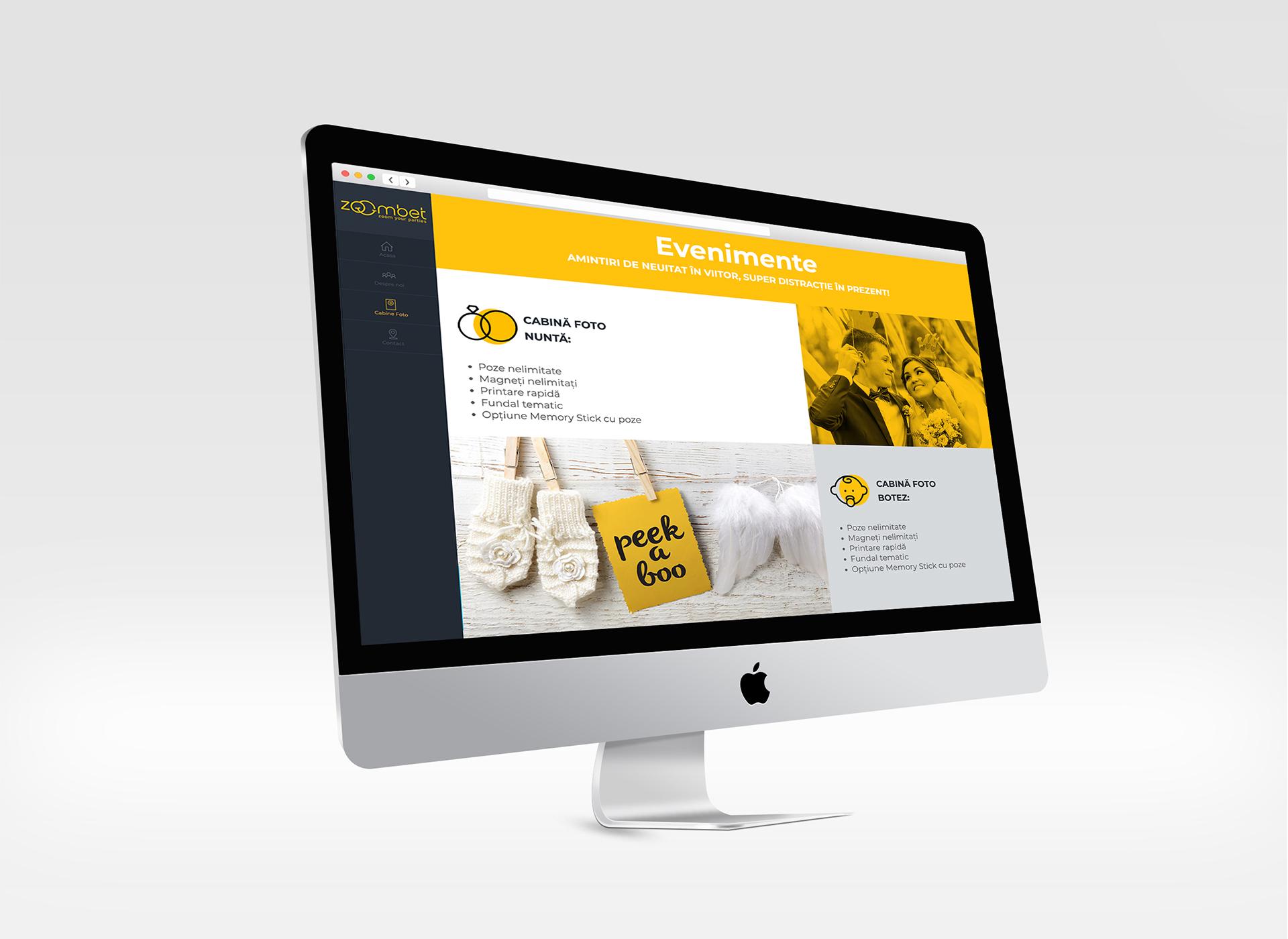 zoombet antet portfolio design by inoveo
