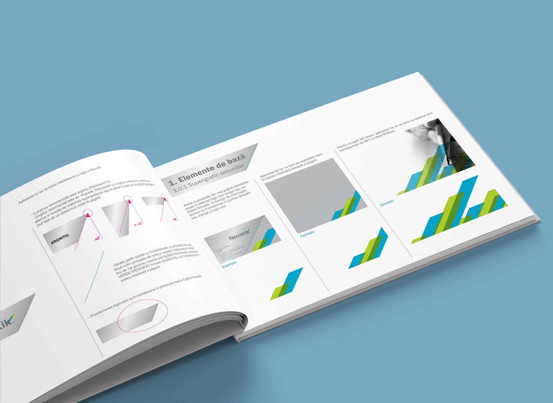 novatik portofoliu branding brandbook