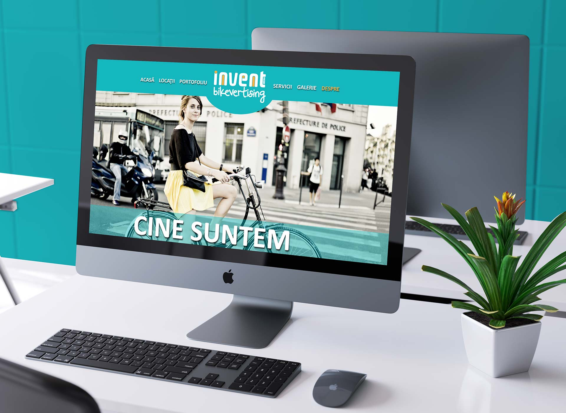 bikevertising webdesign project by inoveo