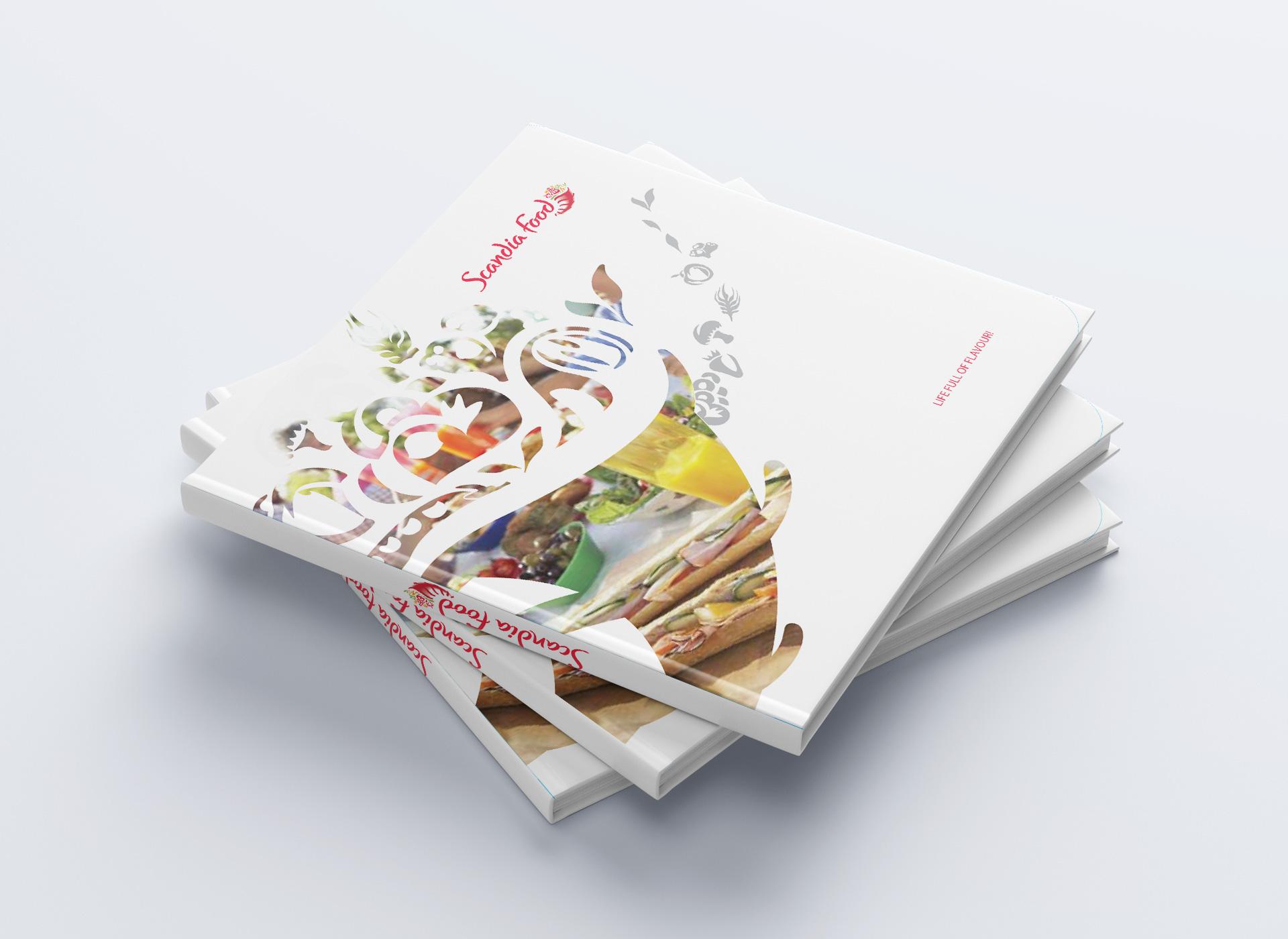 scandia food rebranding brosura