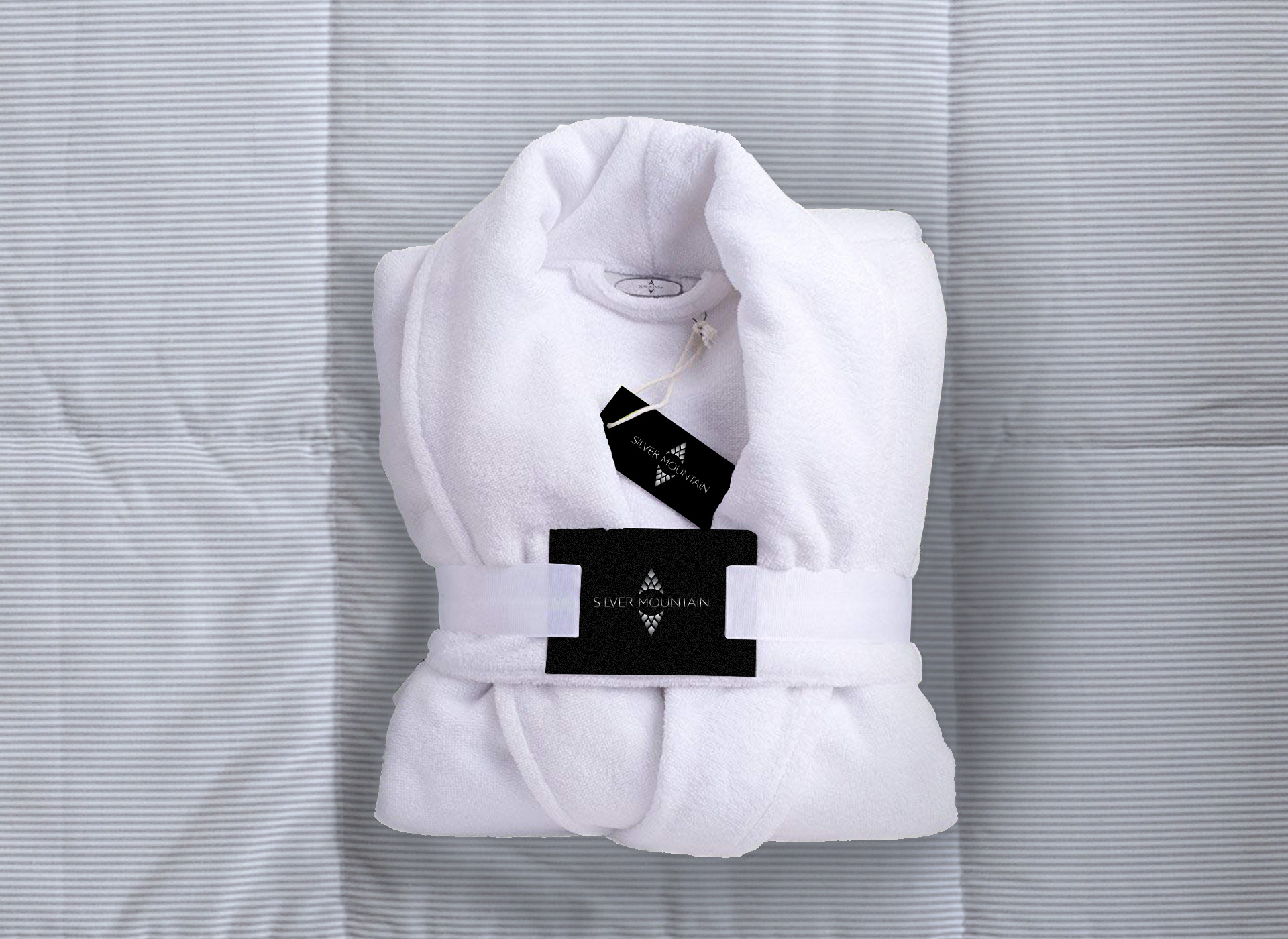 Silver Mountain portfolio inoveo bath robe