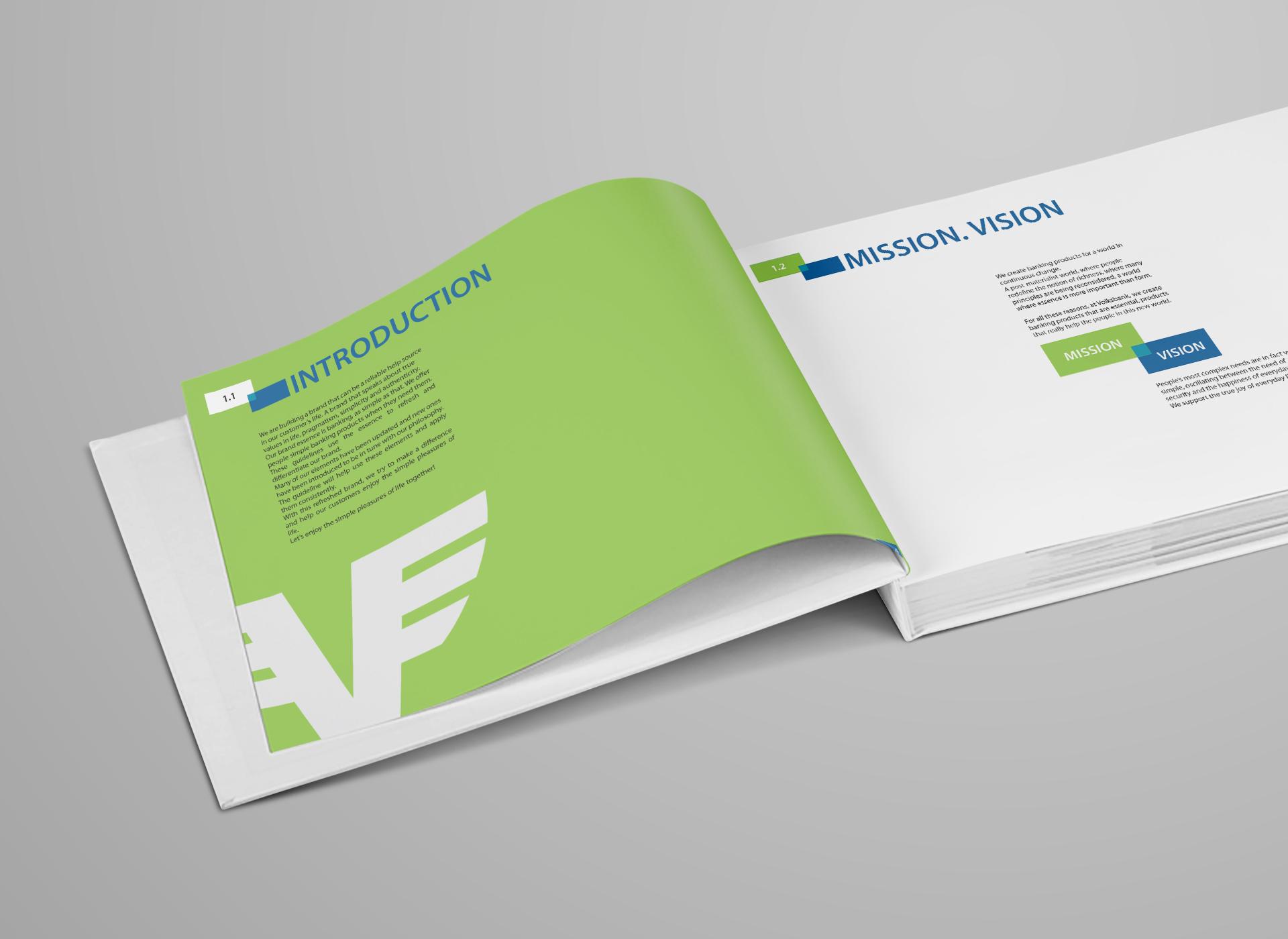 volksbank brand book portfolio inoveo