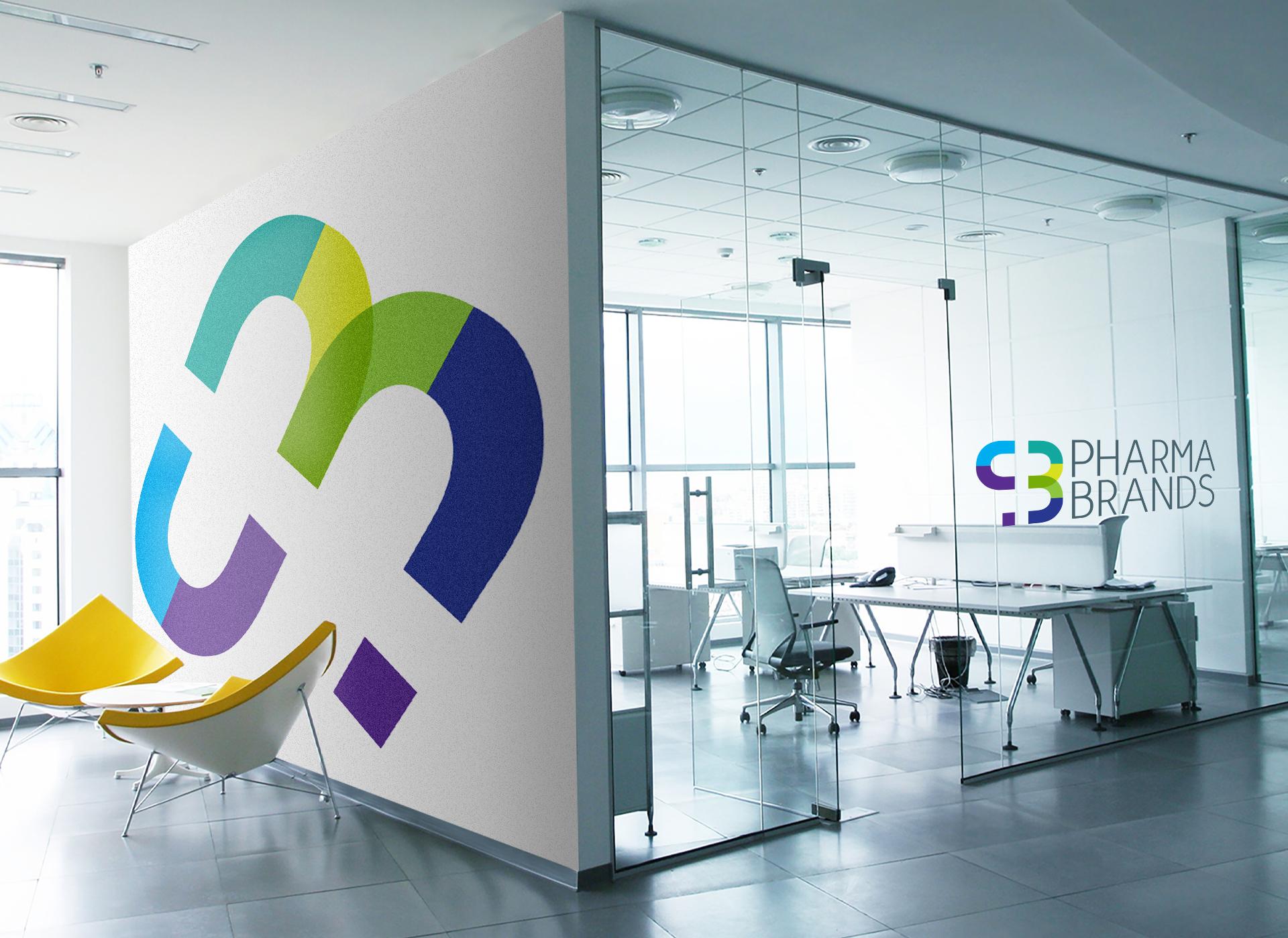 pharma brands wall portofoliu inoveo