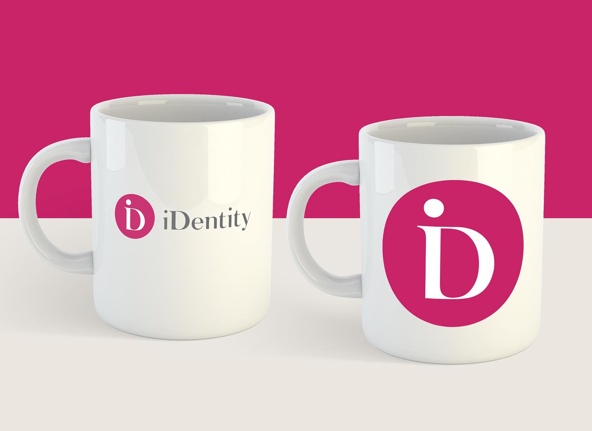 identity logo applied after rebranding