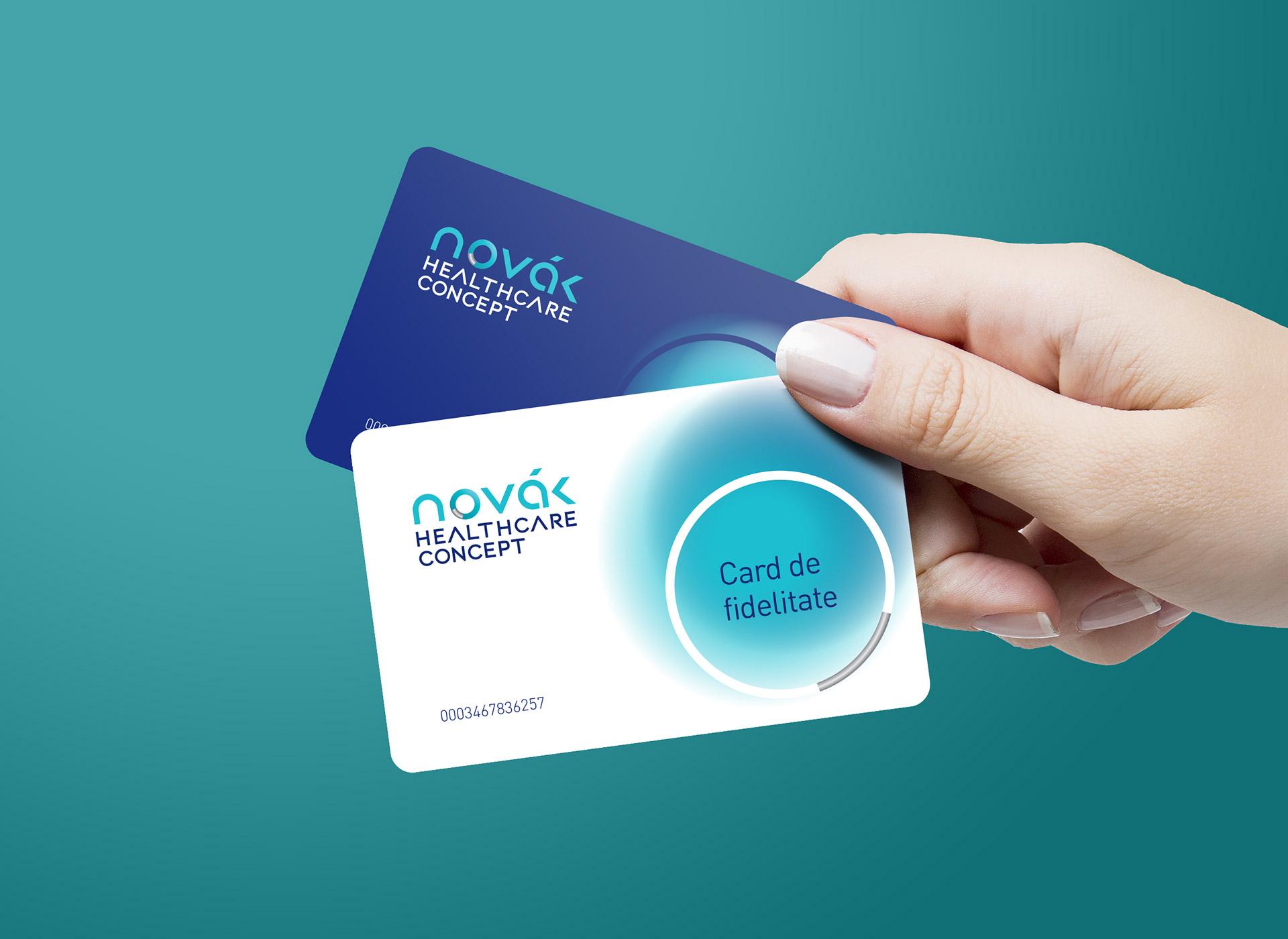 novak fidelity card branding