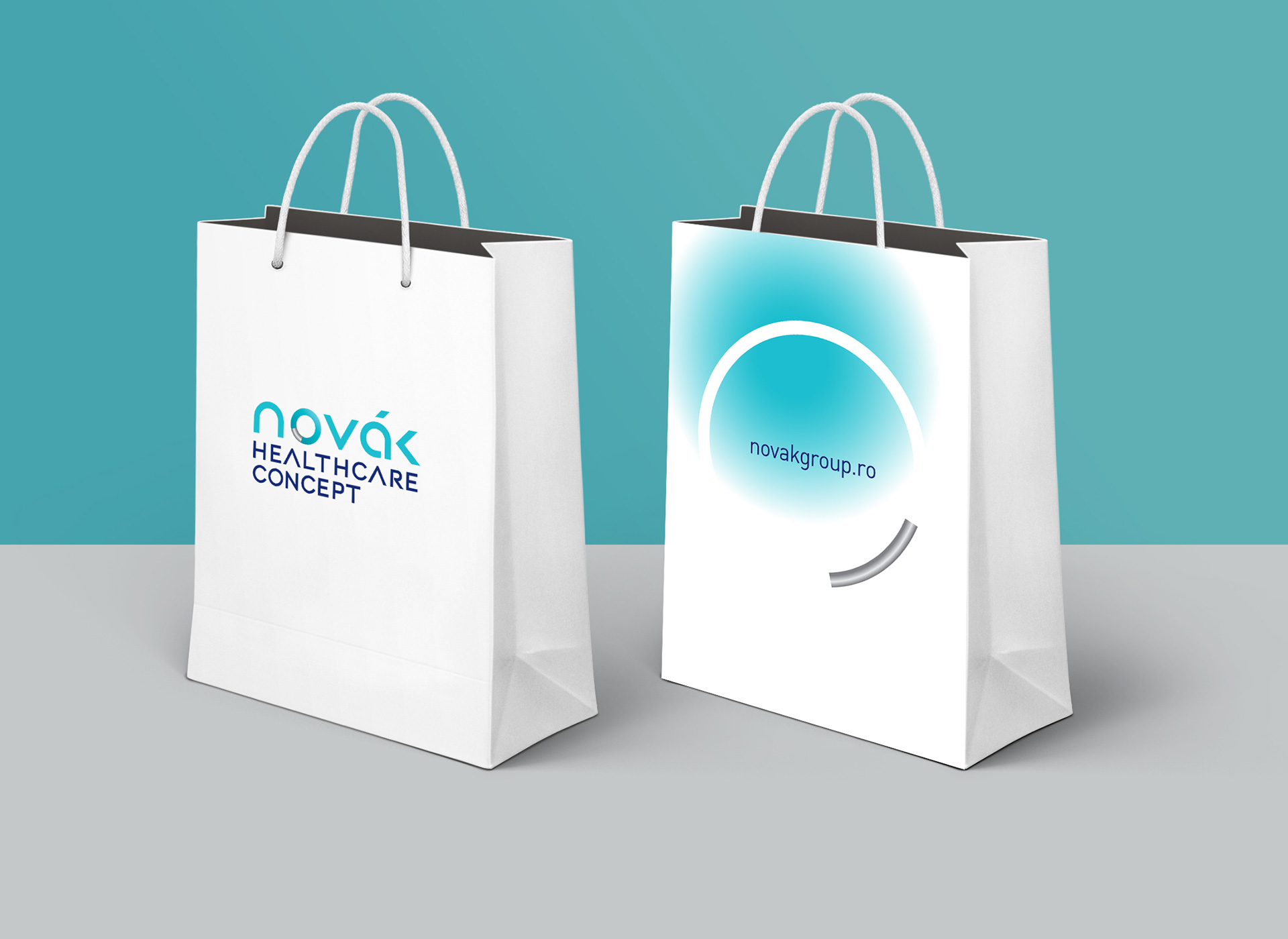 novak bags branding