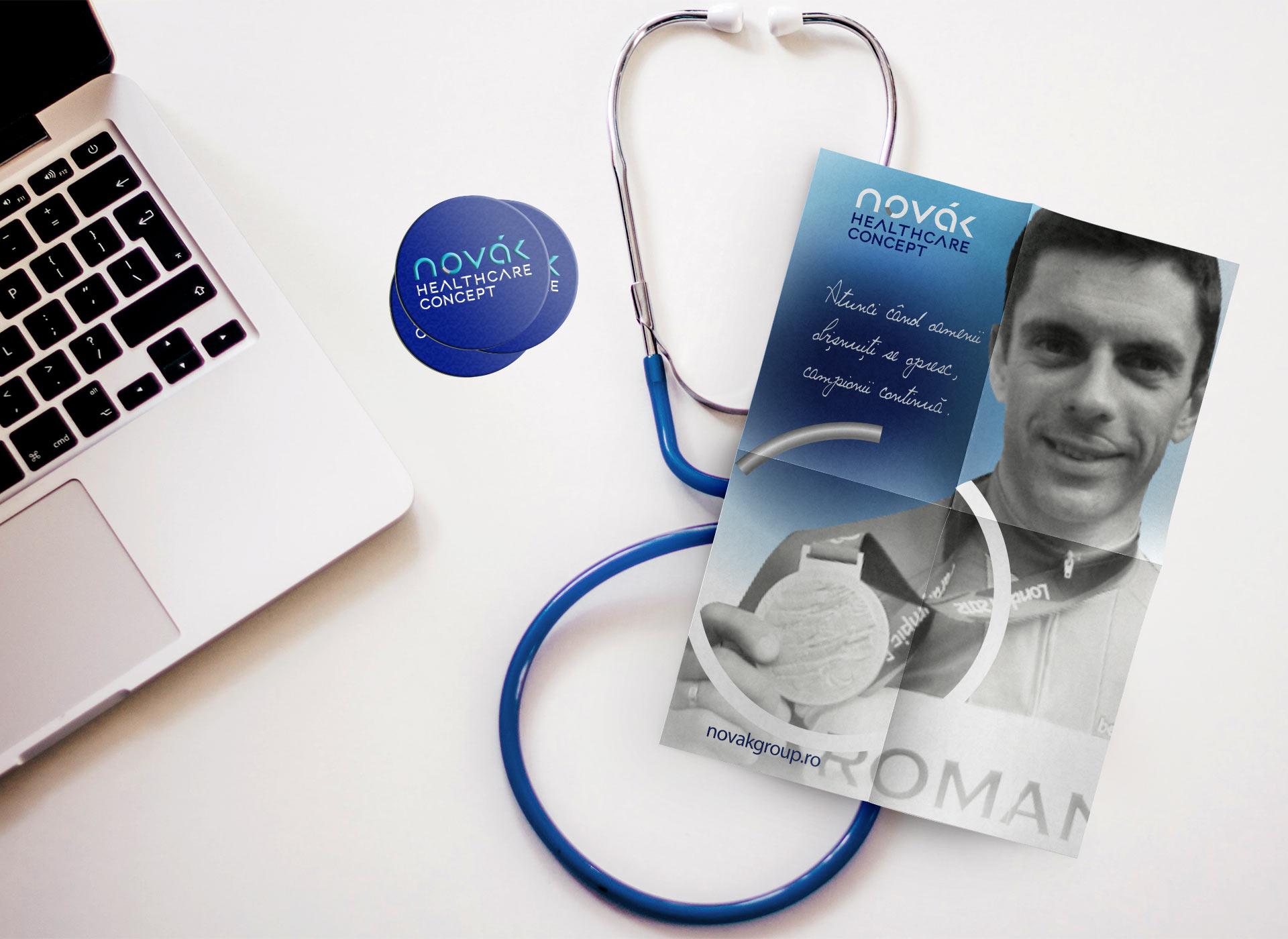 novak stetoscop branding