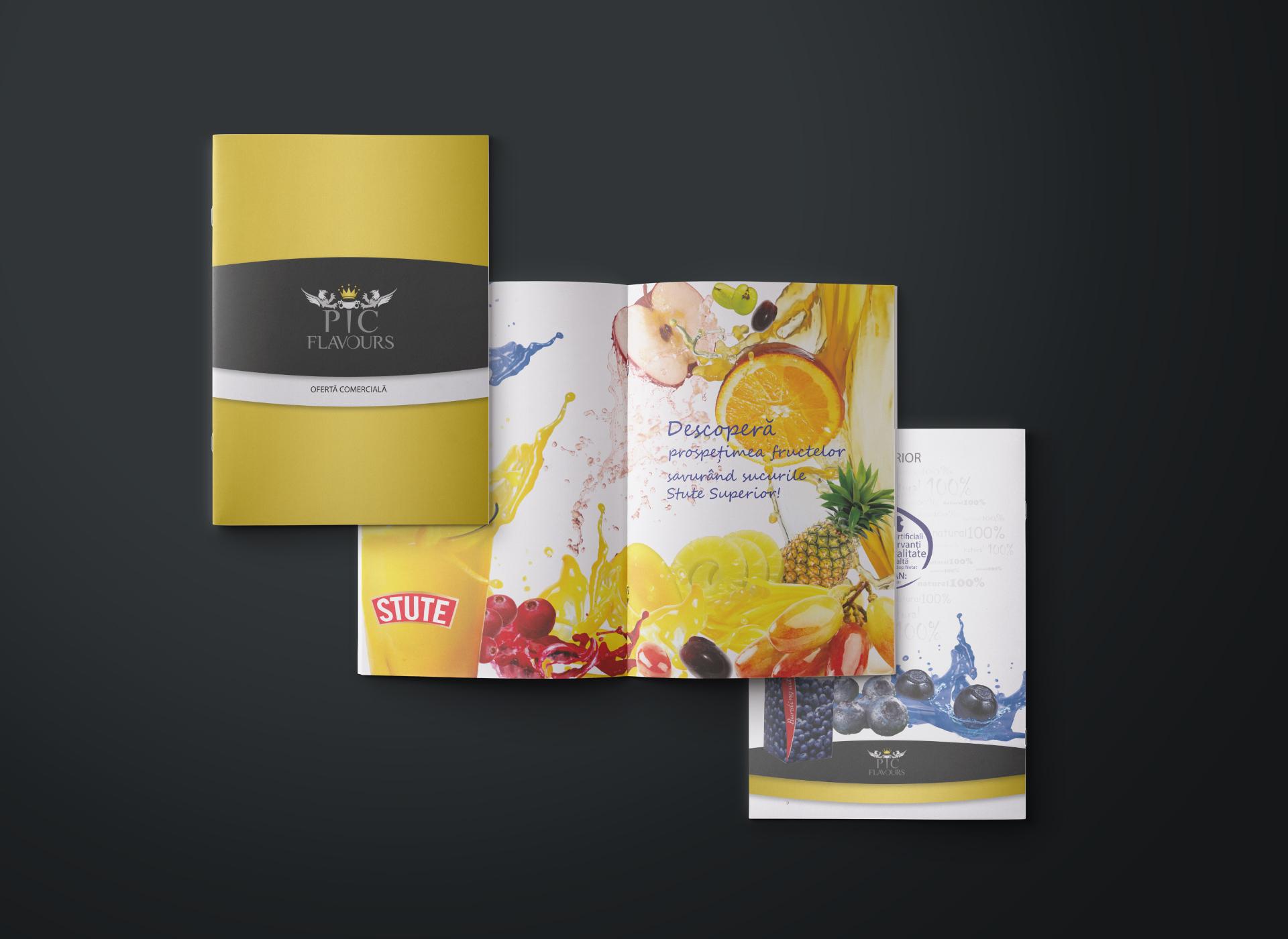 pic flavours broshure portofoliu inoveo