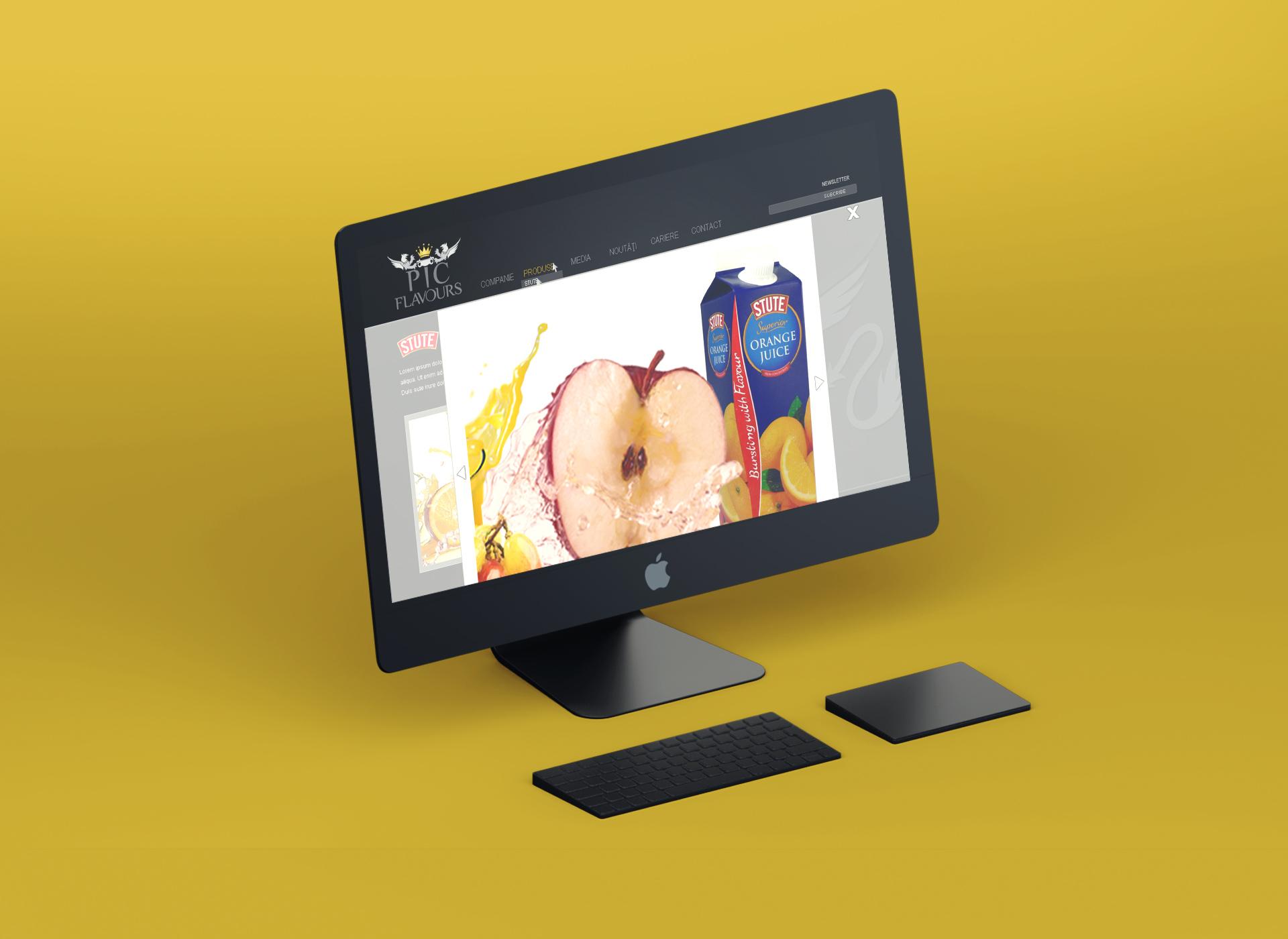 pic flavours website portofoliu inoveo