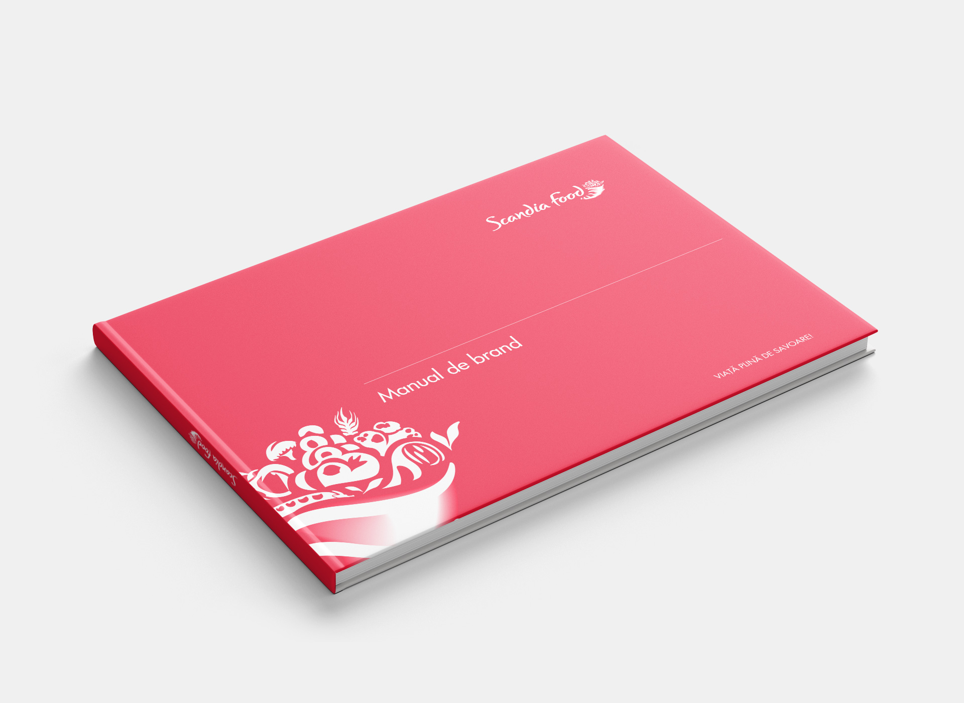 scandia food rebranding brand book