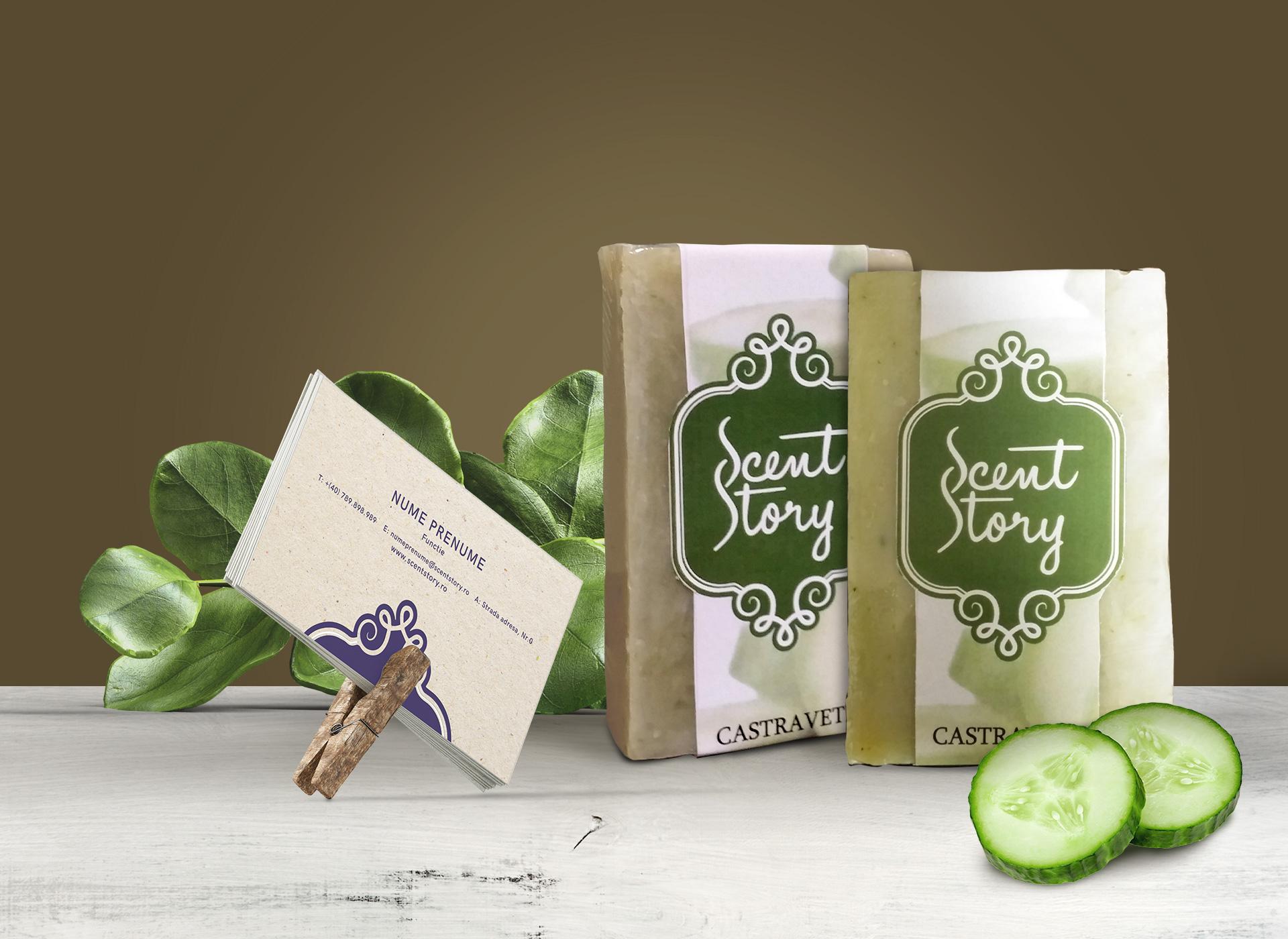 Scent Story portfolio inoveo business card