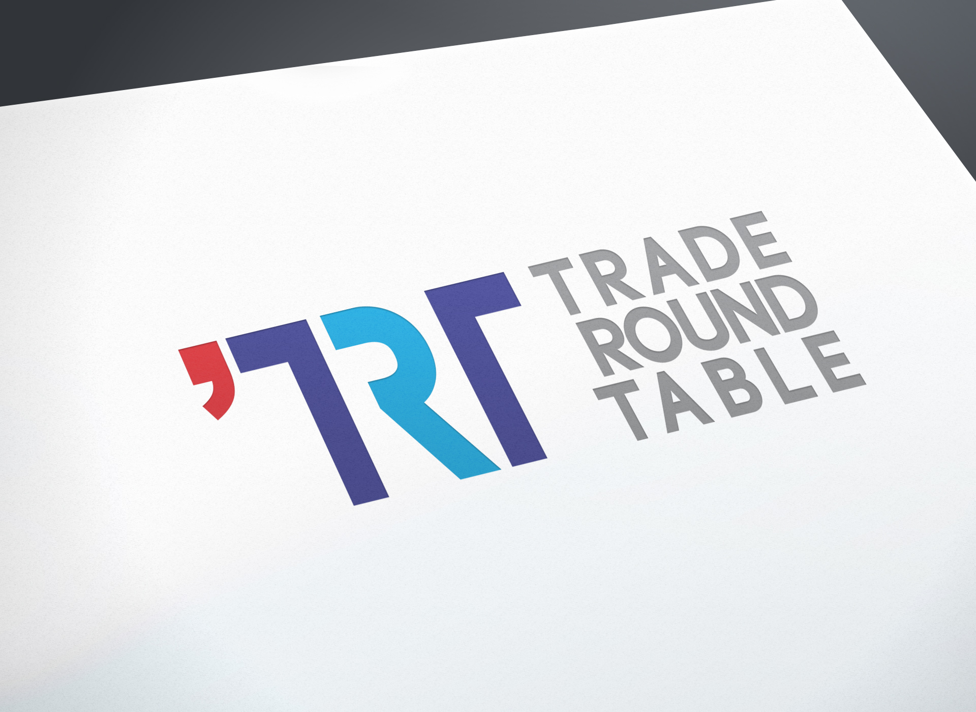 trade round table branding by inoveo badge