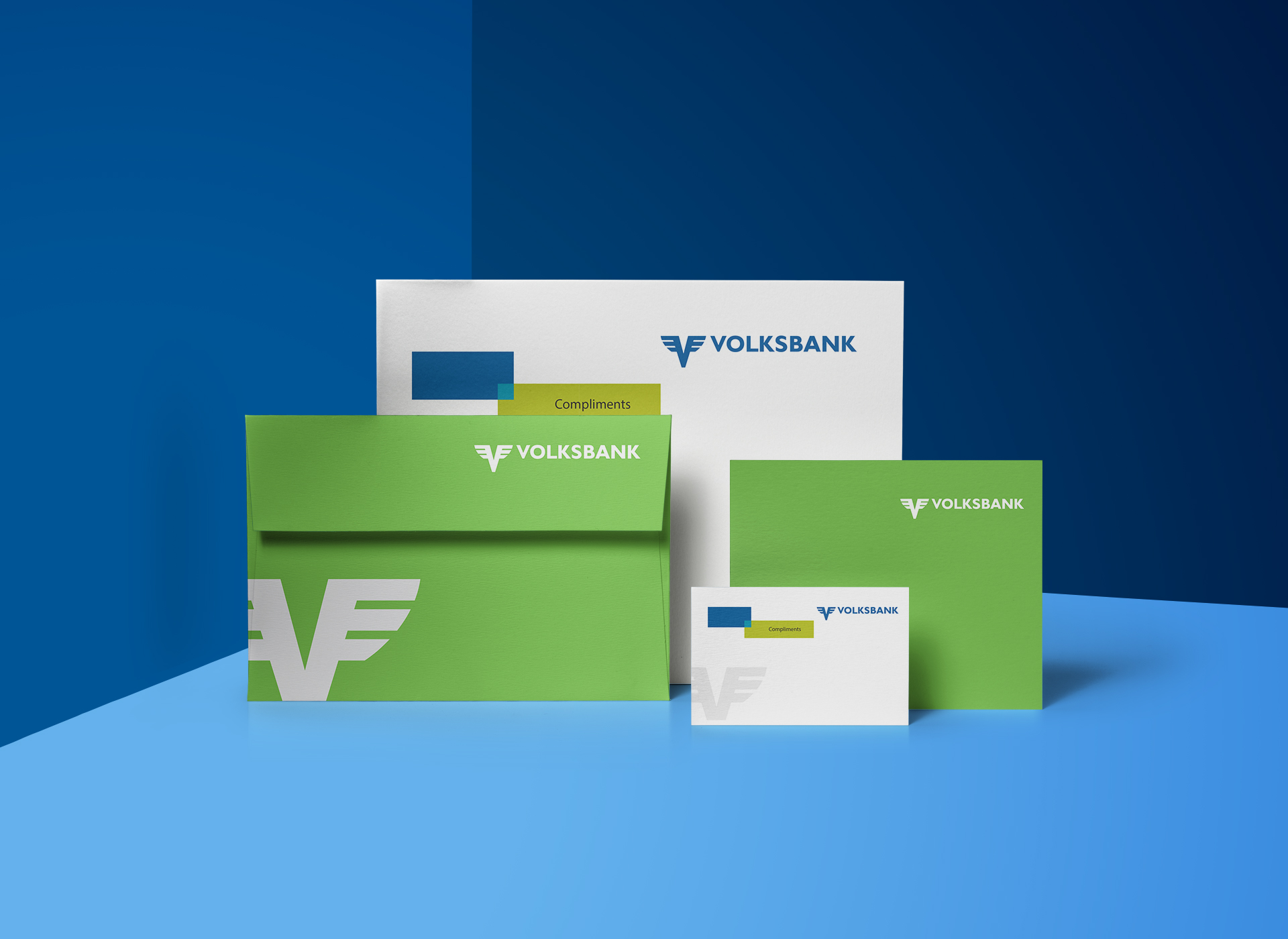 volksbank greeting card portofoliu inoveo