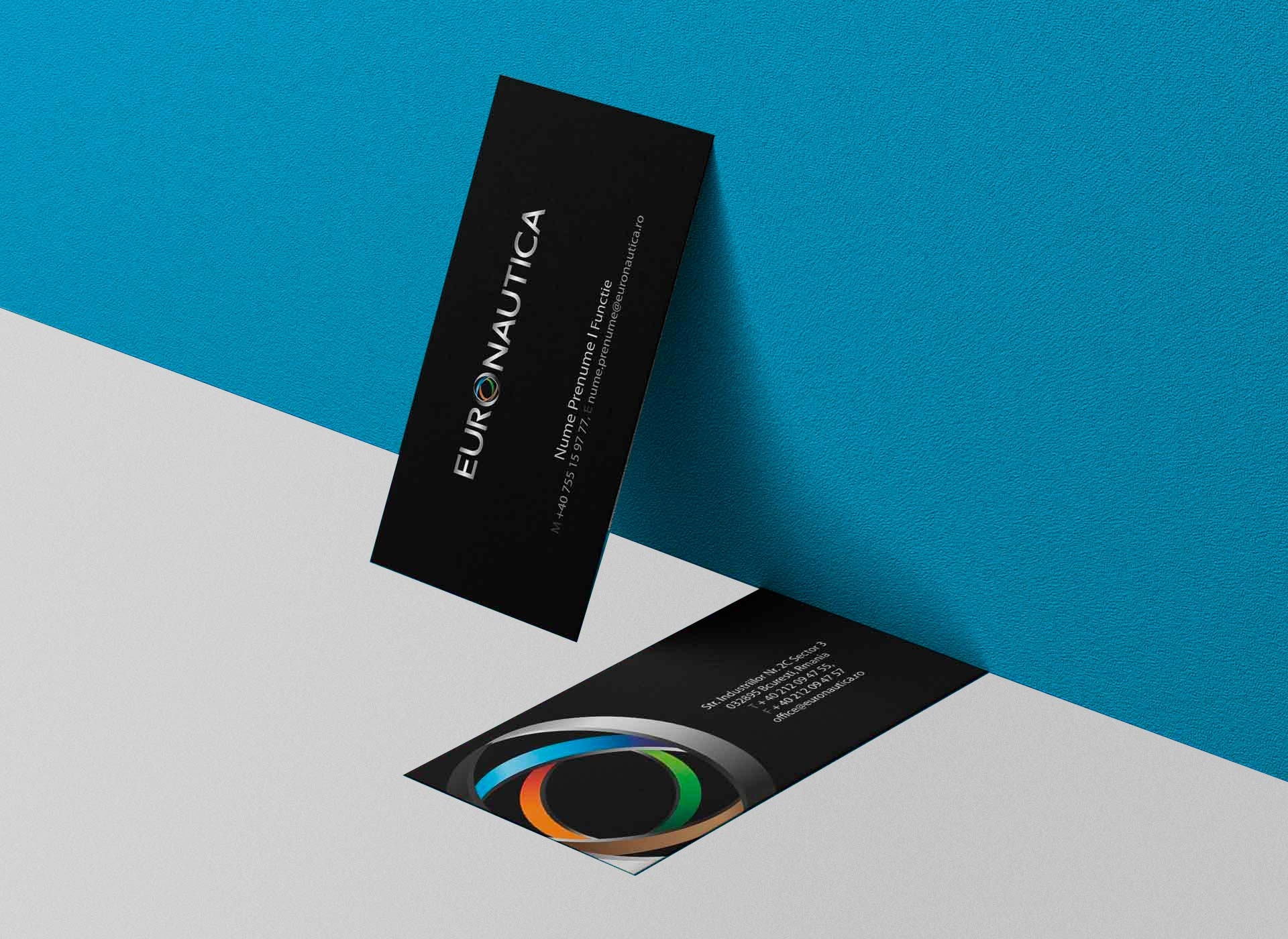 euronautica business cards