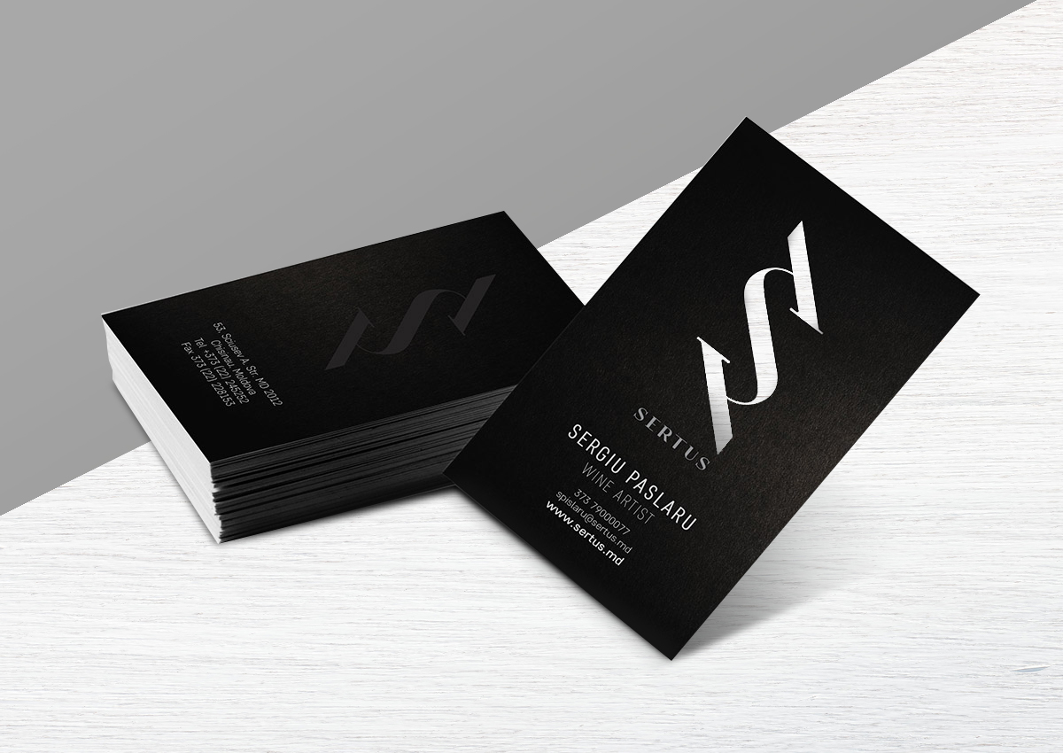 Sertus business card branding inoveo