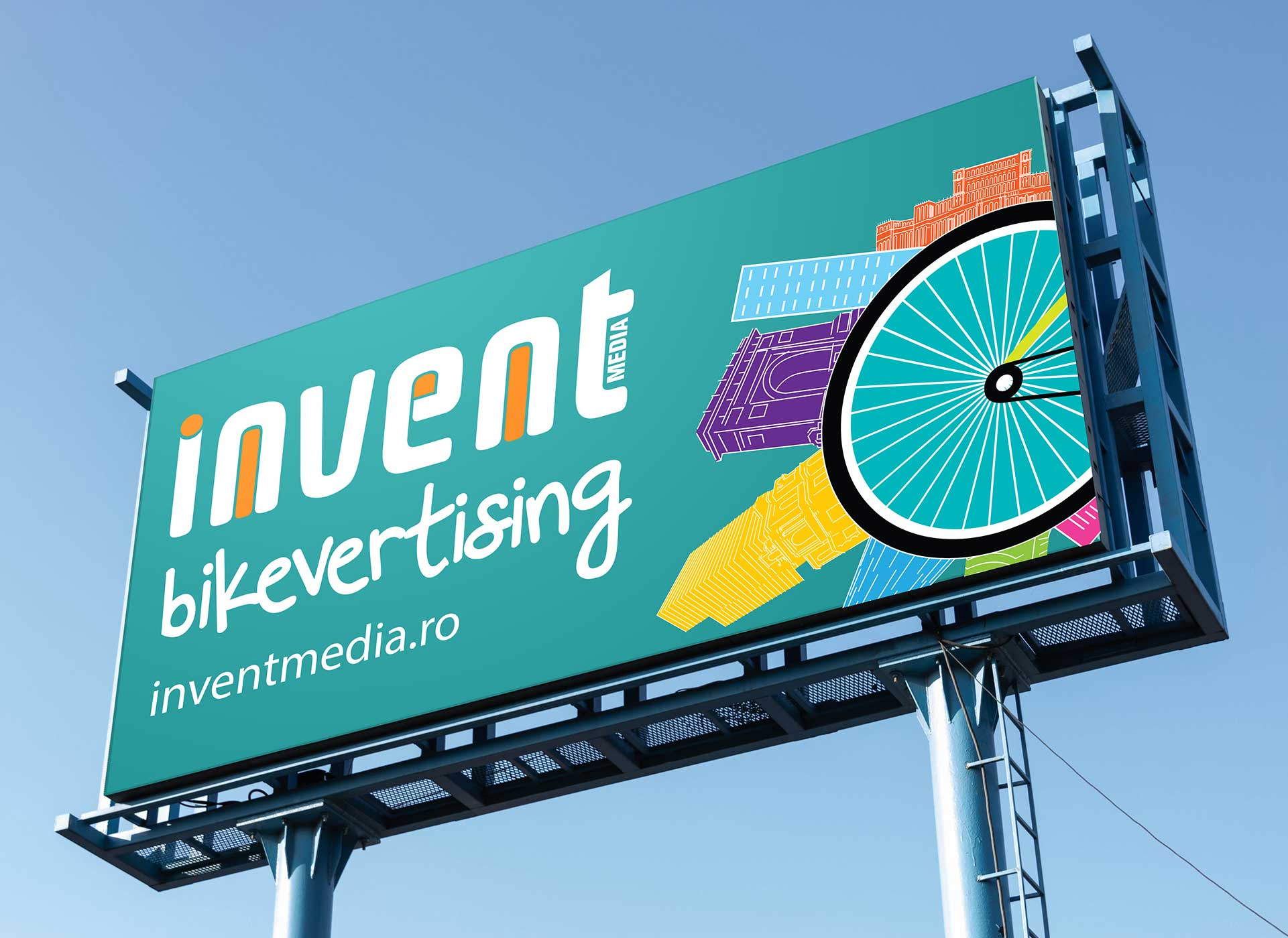 bikevertising outdoor banner