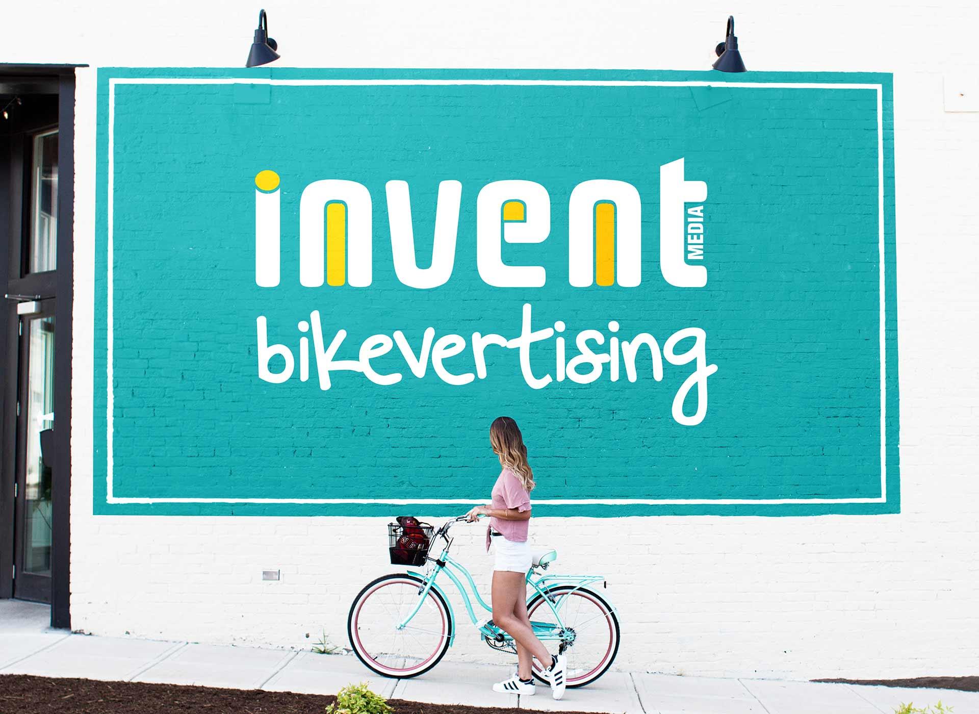 bikevertising proiect dezvoltate de inoveo