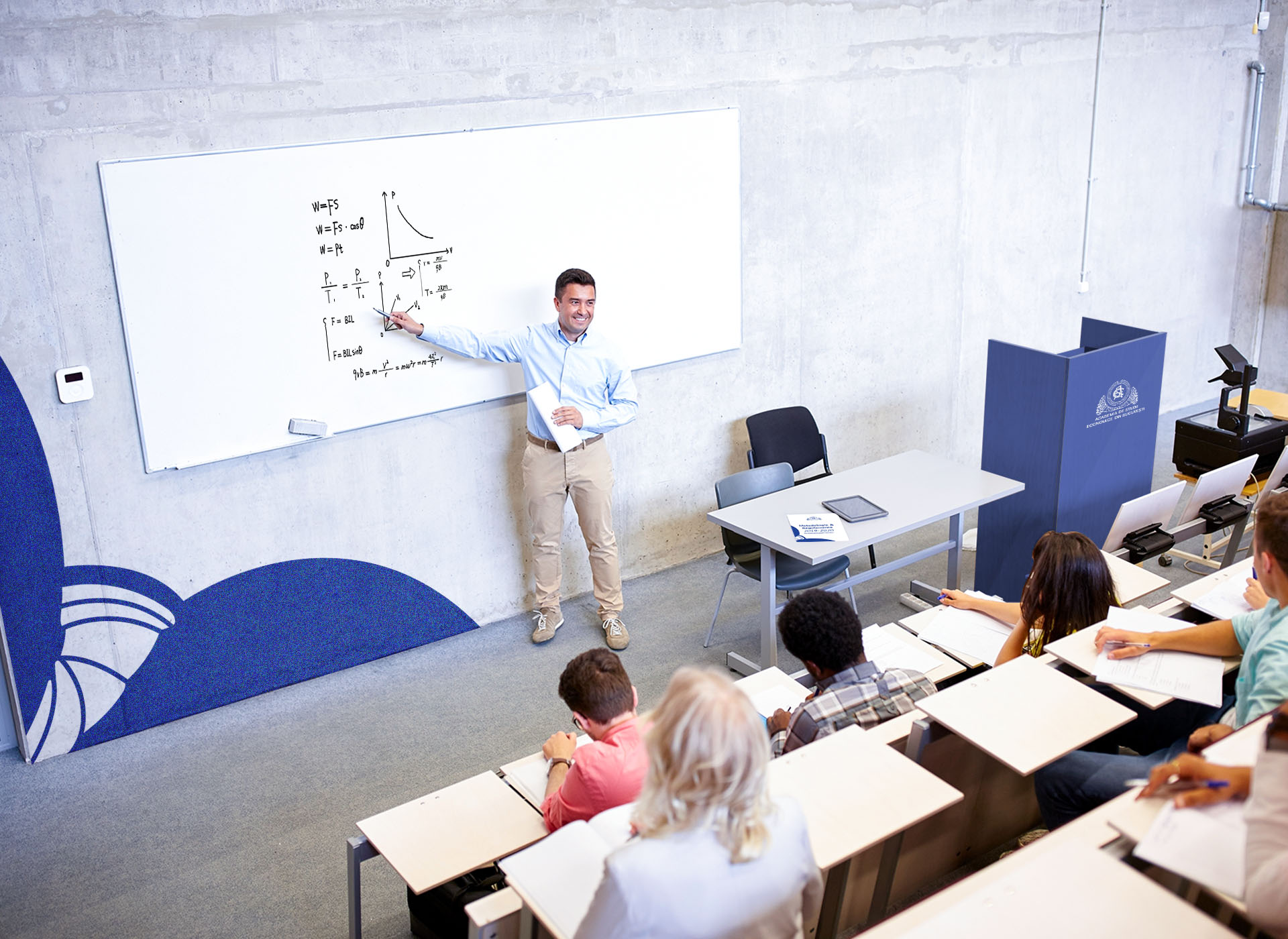 Academia de Studii Economie din Bucuresti portfolio inoveo classroom