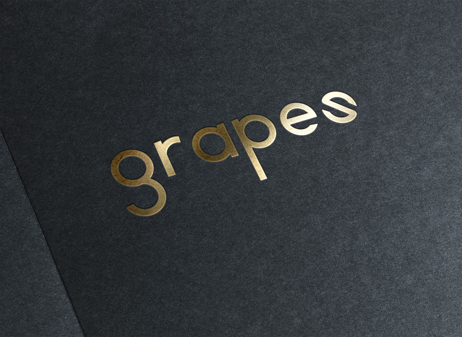Grapes wine bar portfolio inoveo logo
