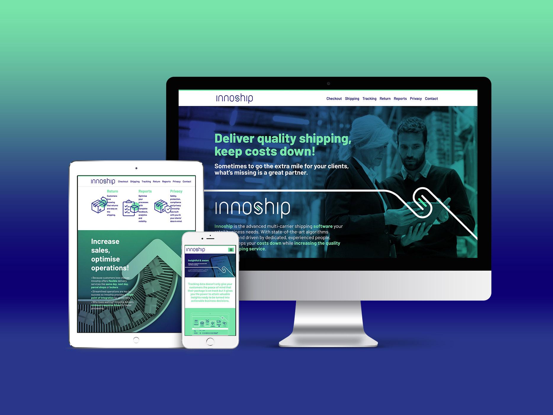 Innoship portofoliu inoveo responsive website
