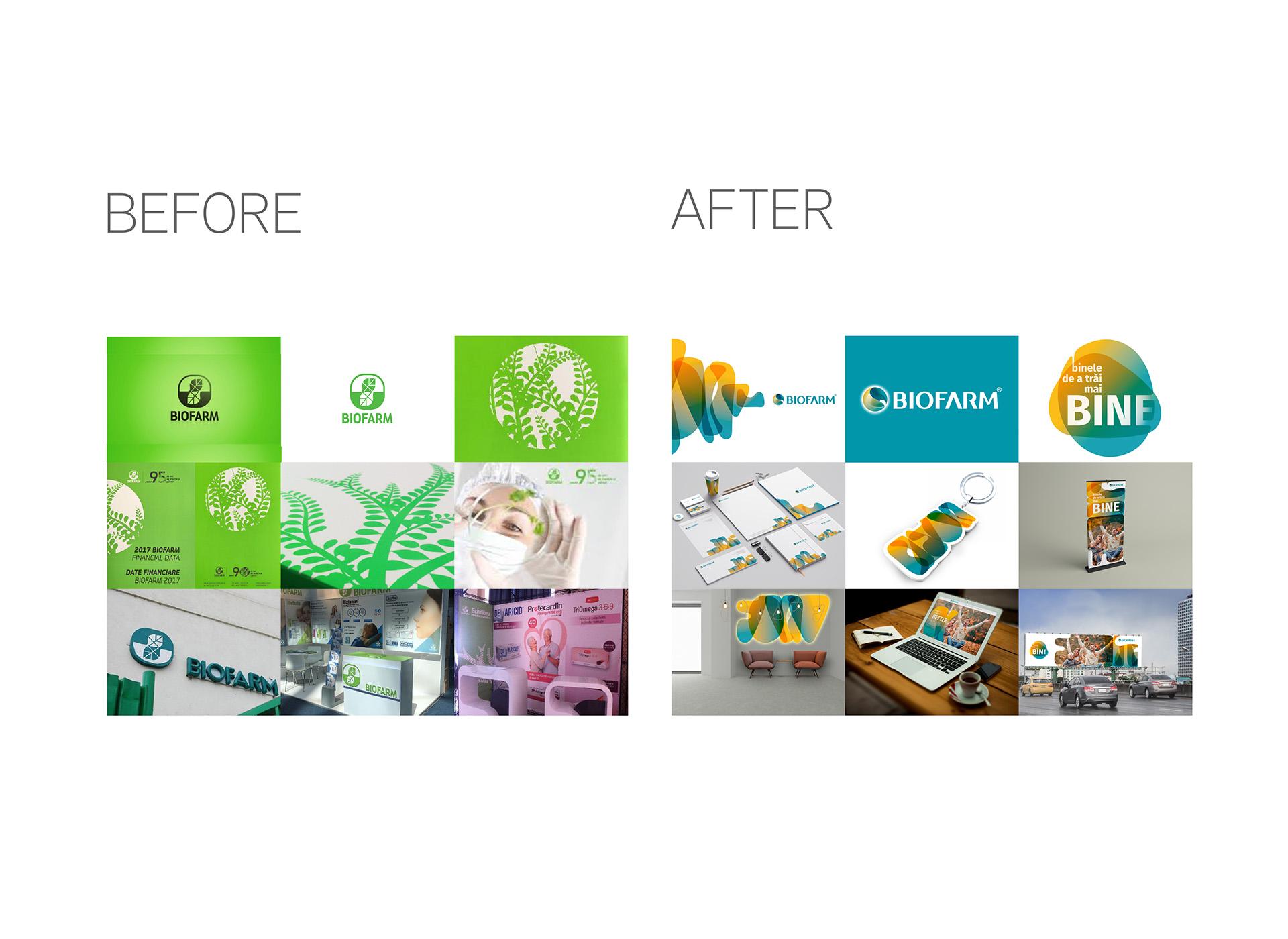 Biofarm portofoliu inoveo before and after