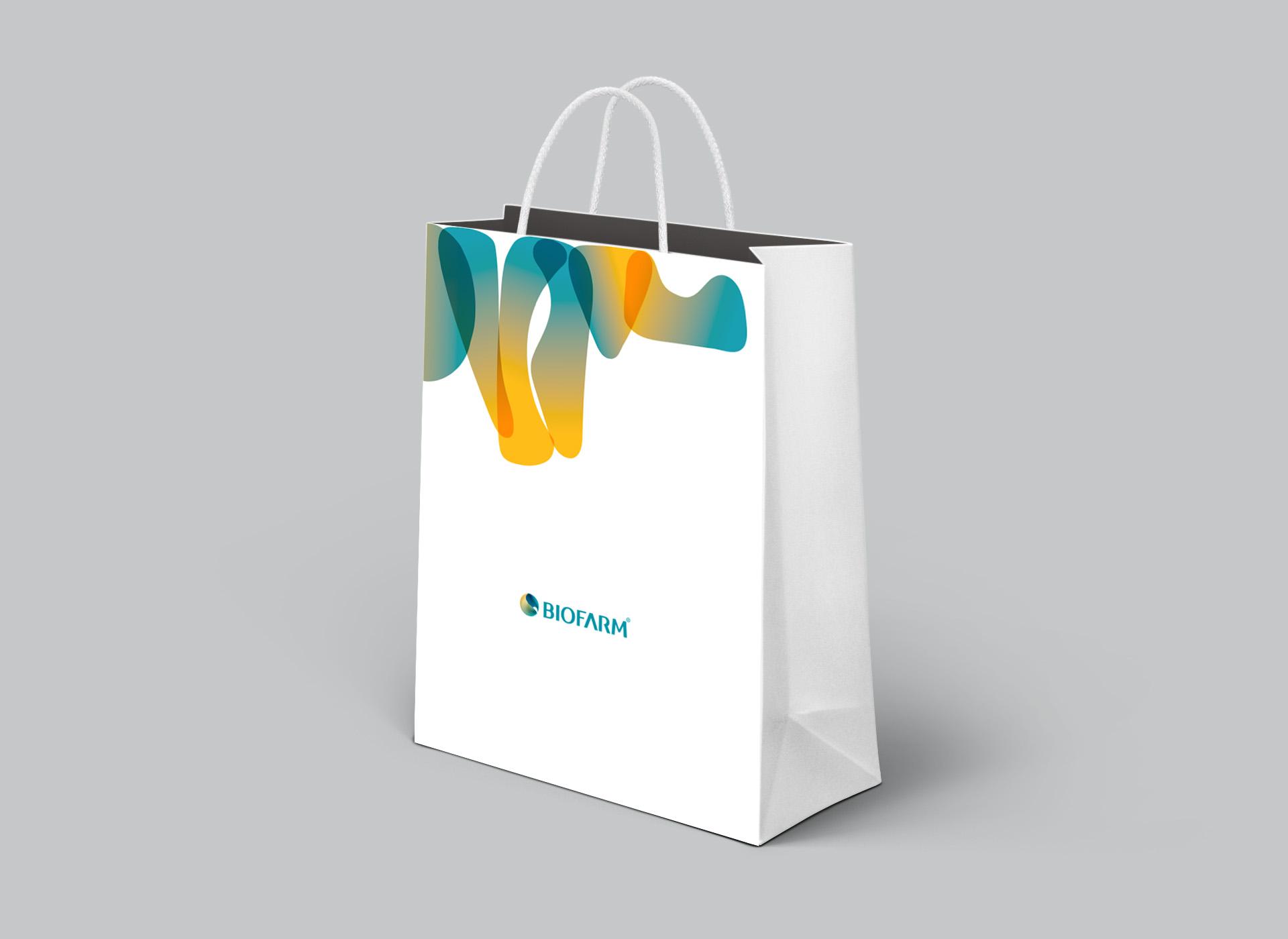 Biofarm portofoliu inoveo paper bag