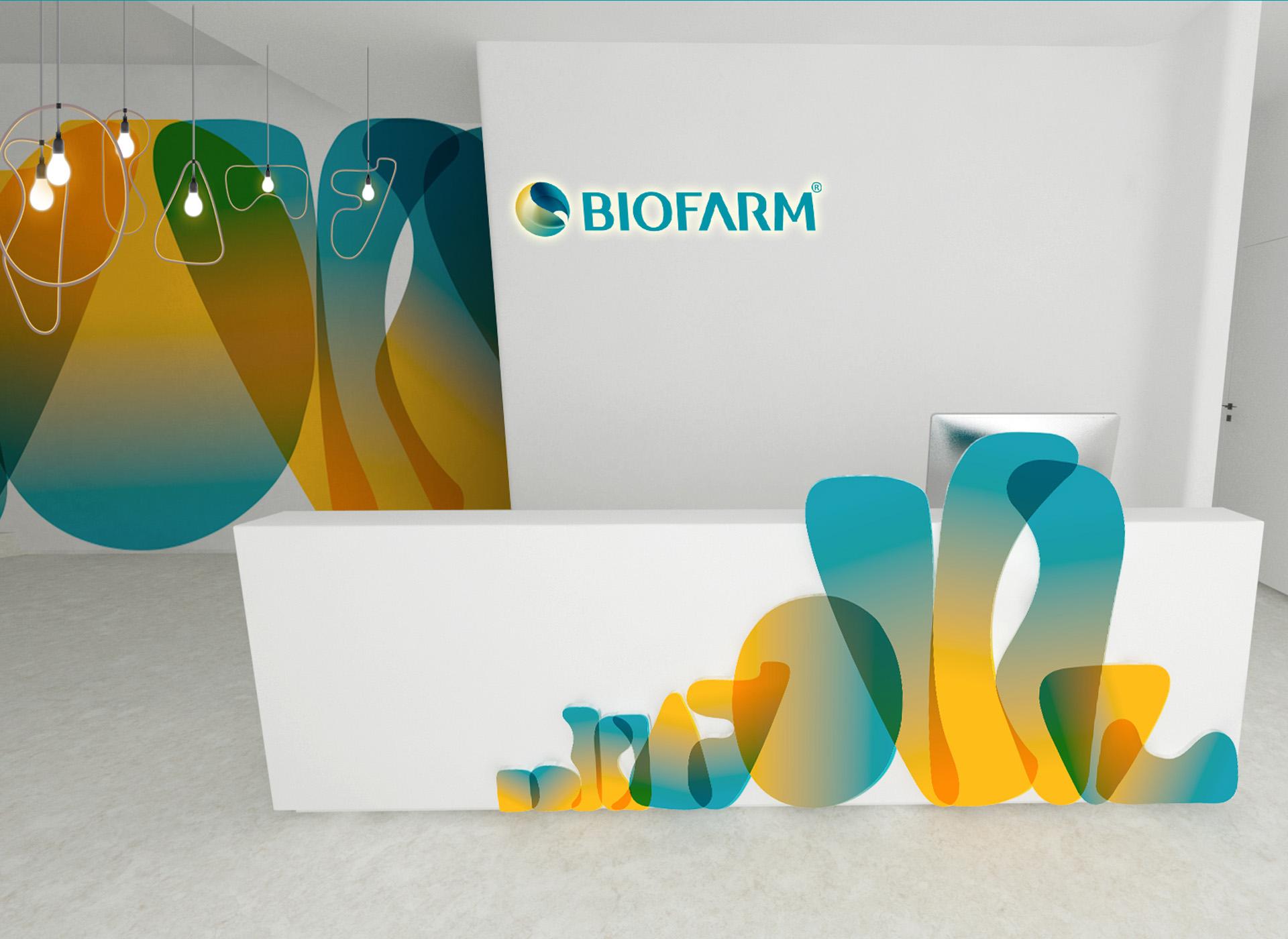 Biofarm portofoliu inoveo receptie