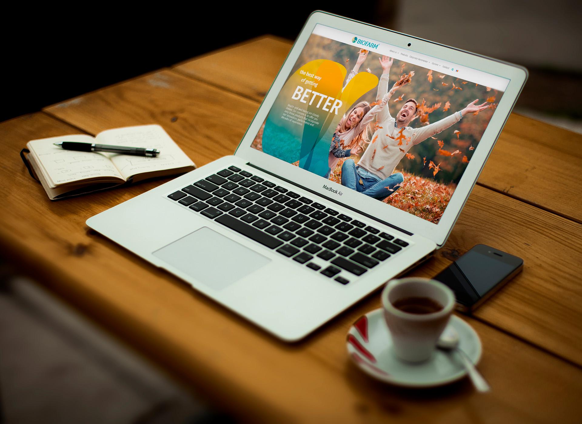 Biofarm portofoliu inoveo website