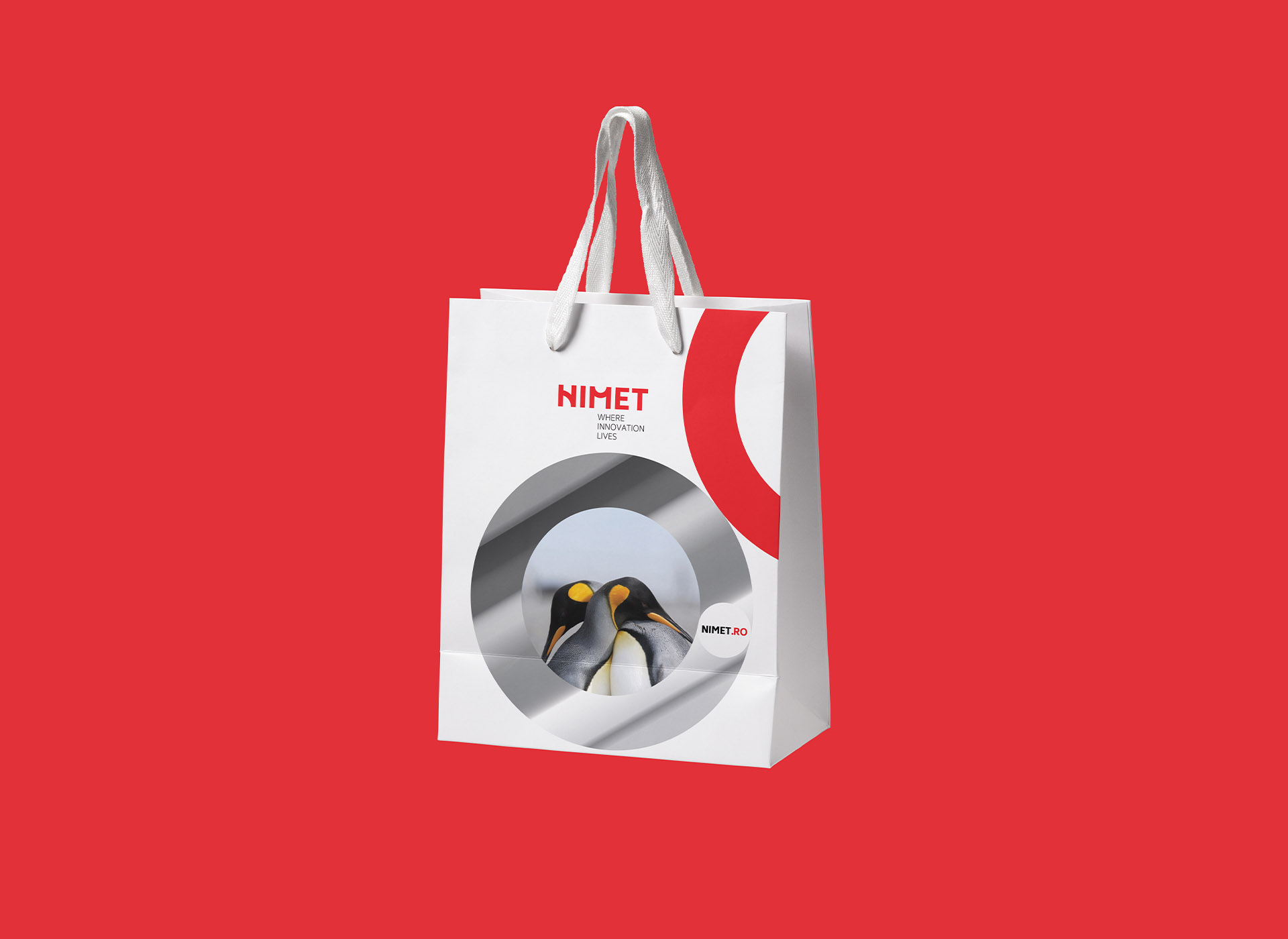 NIMET portofoliu inoveo bag