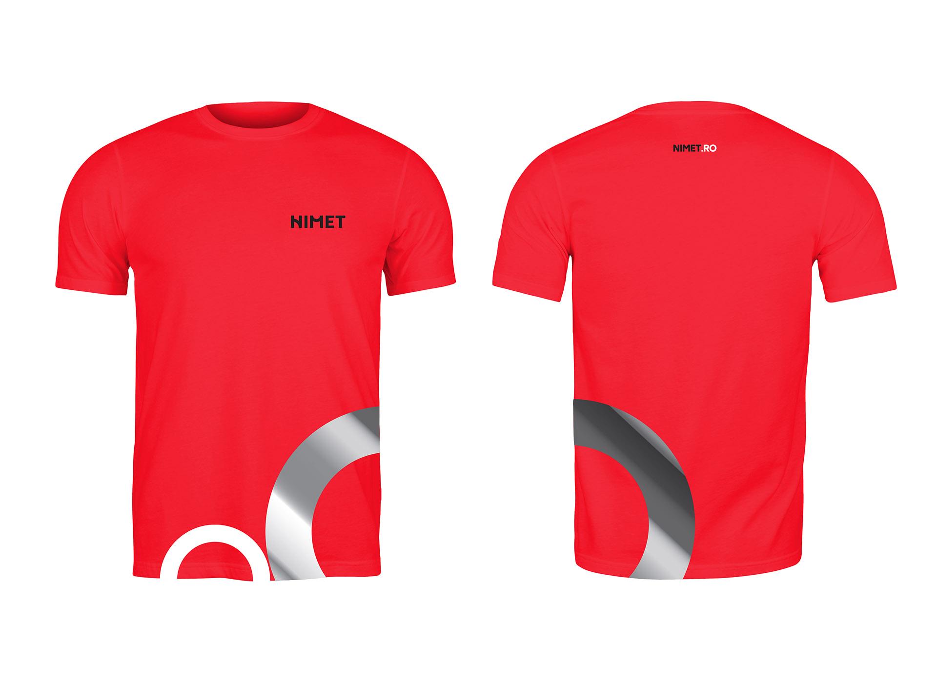 NIMET portofoliu inoveo t-shirt