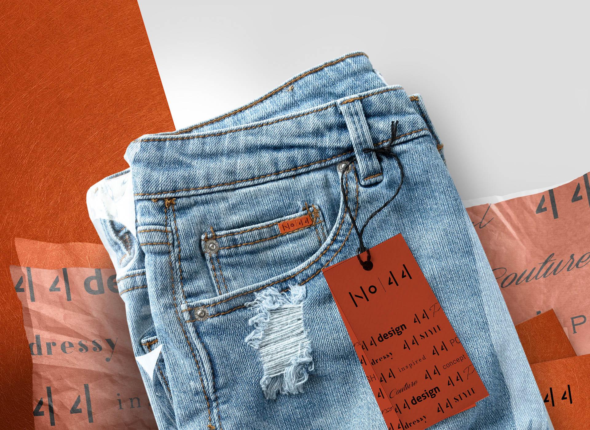 NO44 portofoliu inoveo jeans