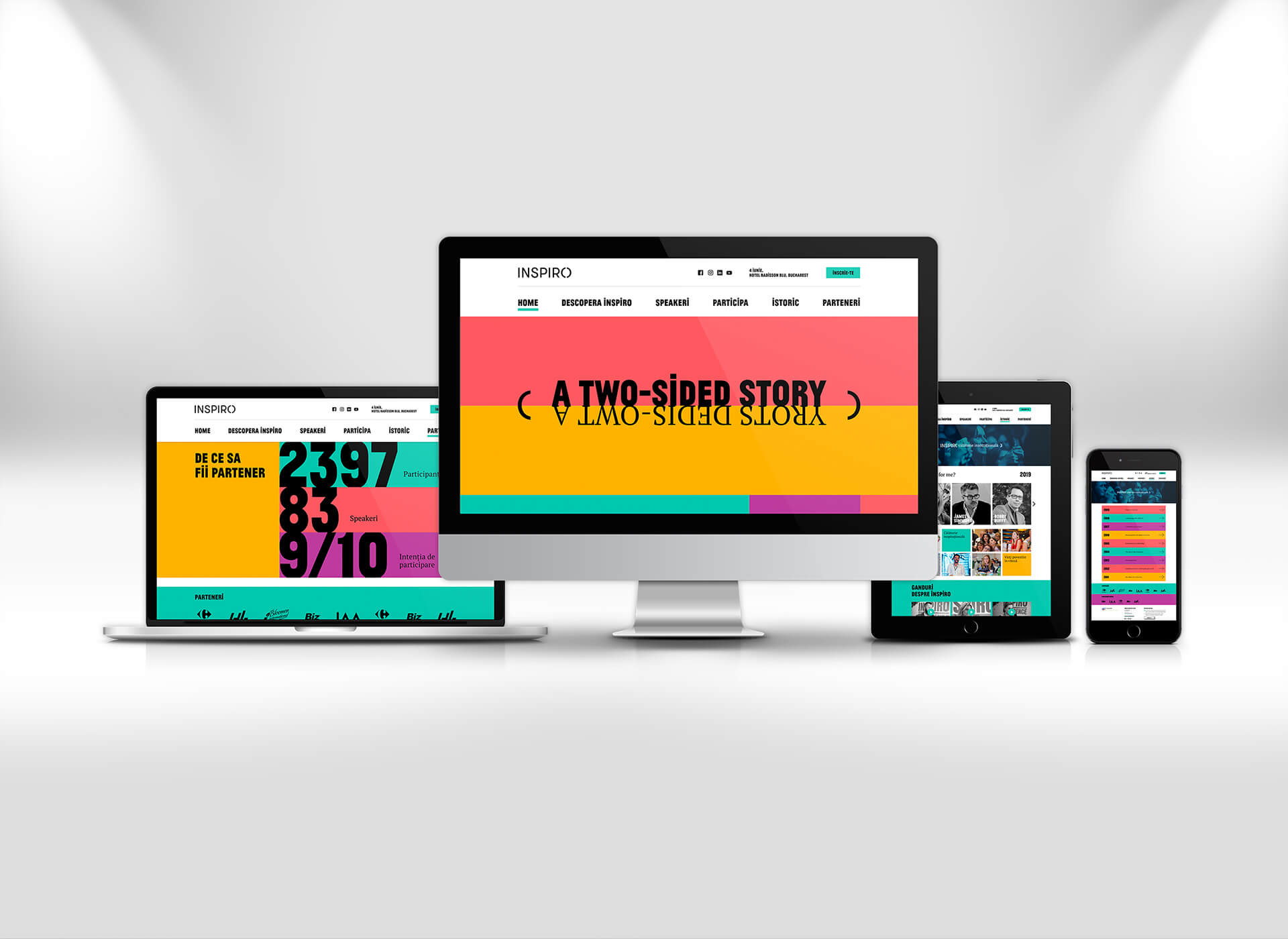 Inspiro portofoliu inoveo website