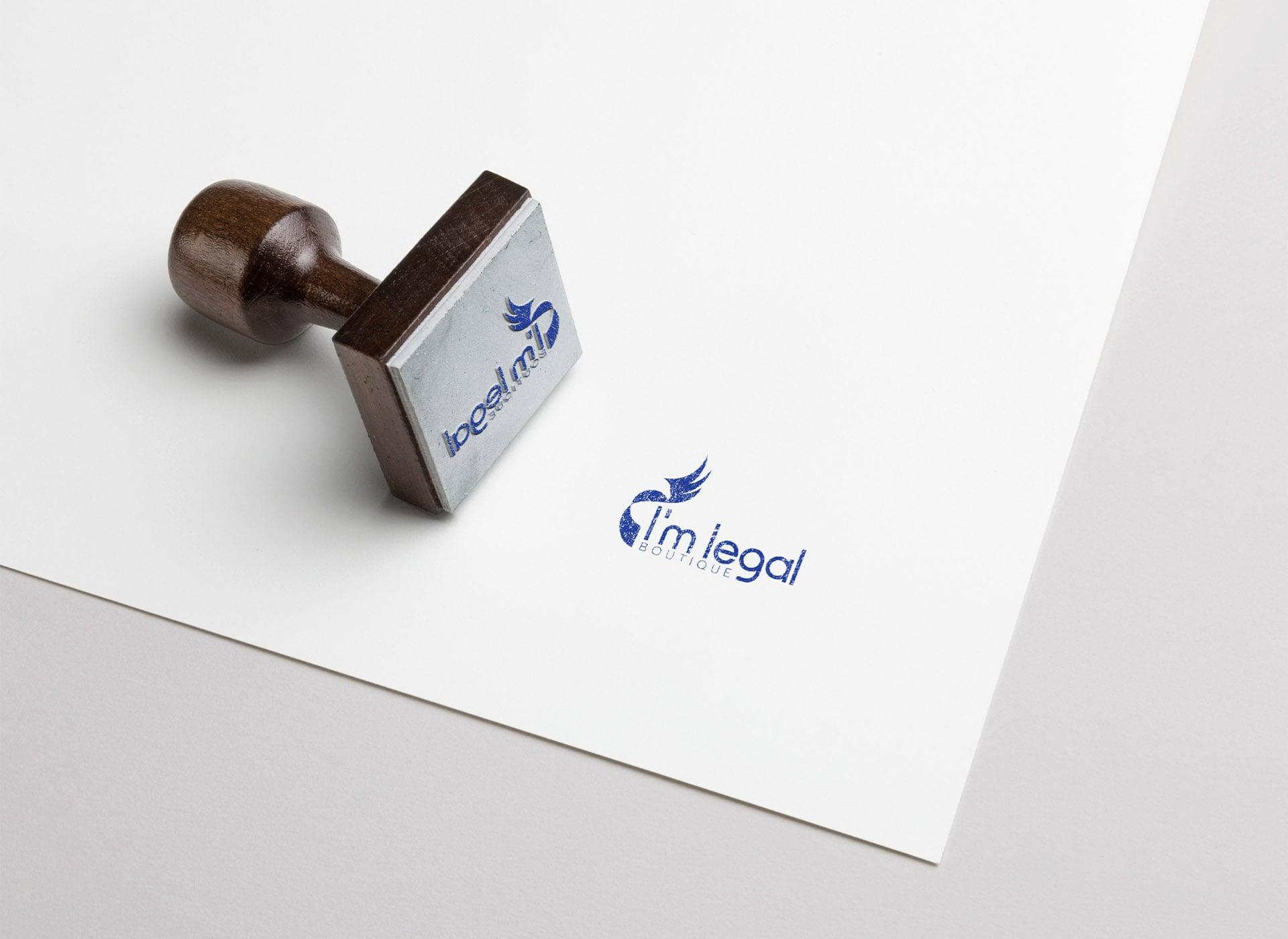 I'm legal portofoliu inoveo stamp