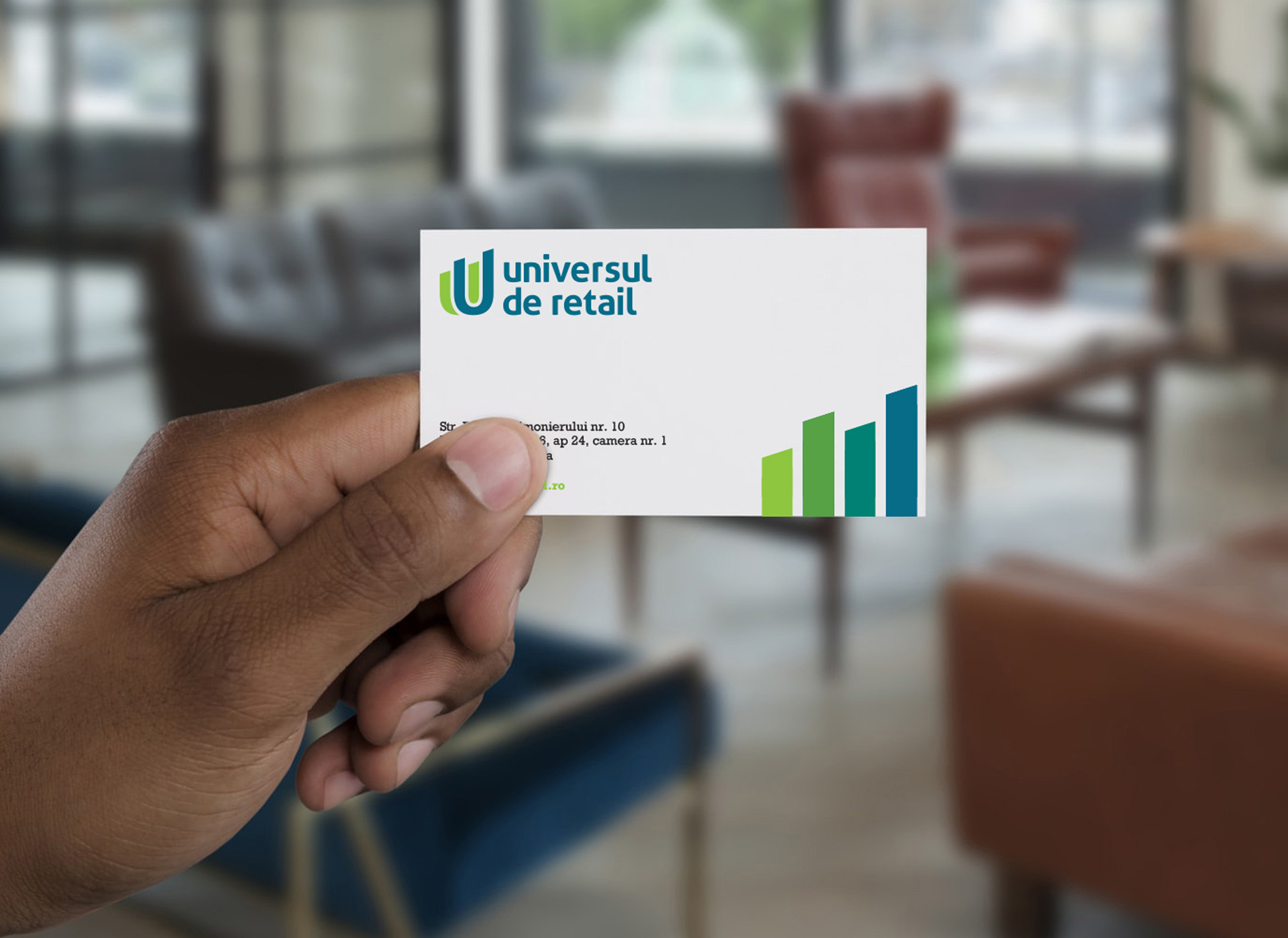 universul de retail portofoliu inoveo business card