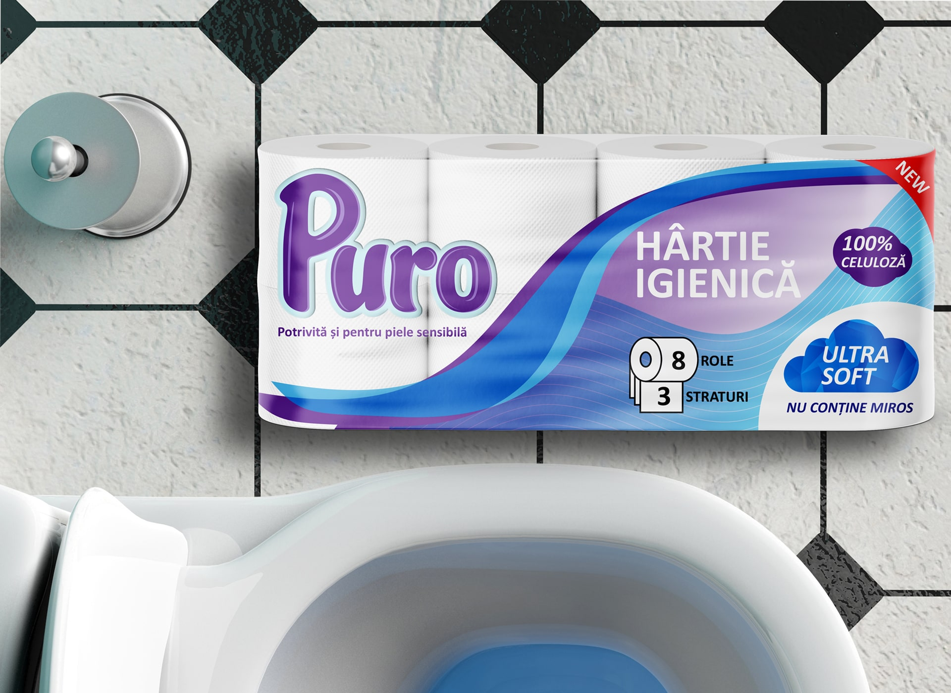 puro portofoliu inoveo hartie igienica