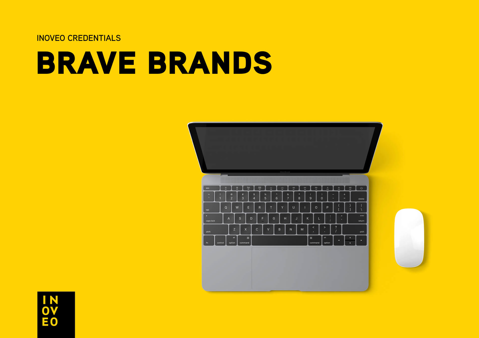 brave brands credentials INOVEO branding