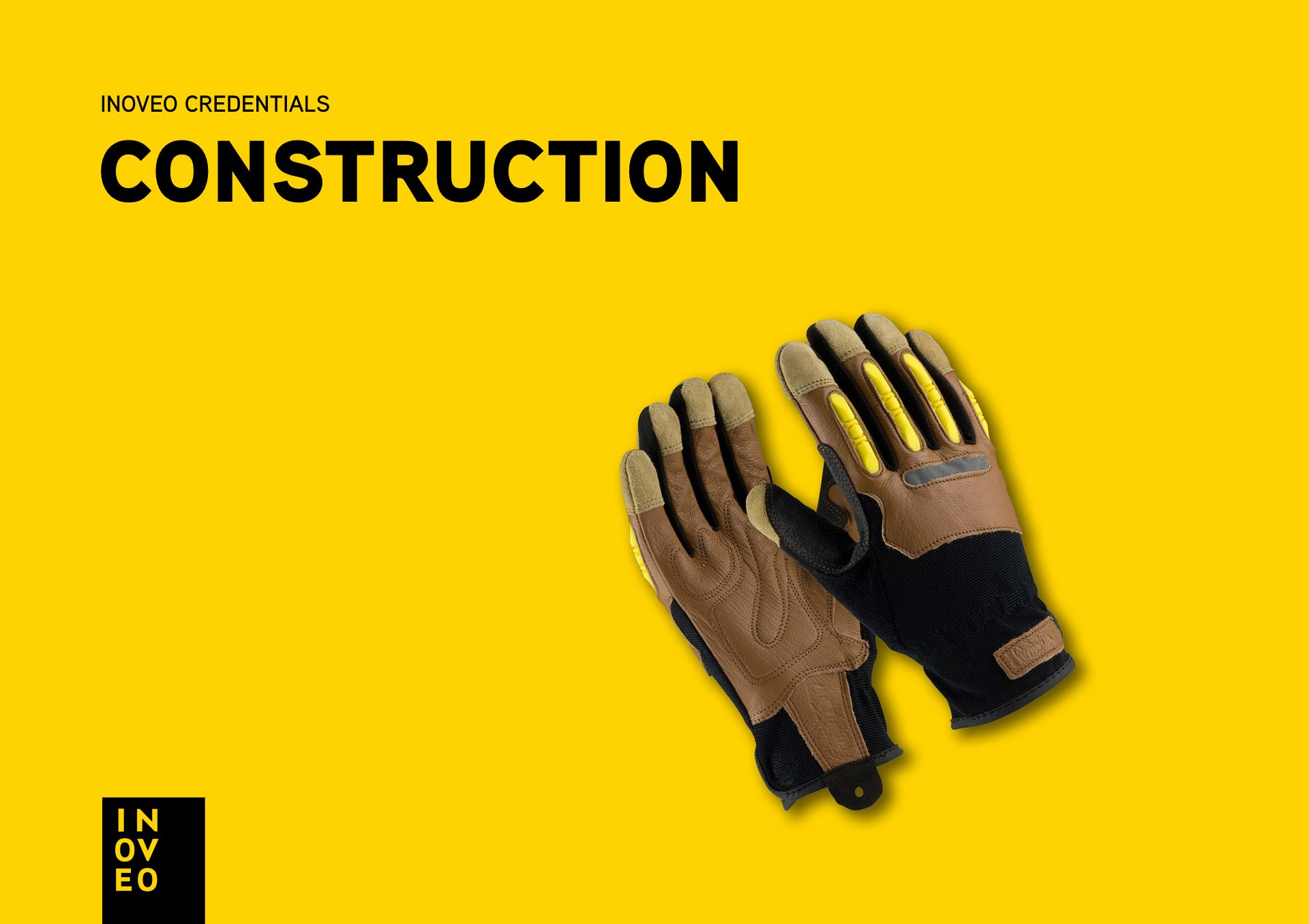 construction credentials INOVEO branding